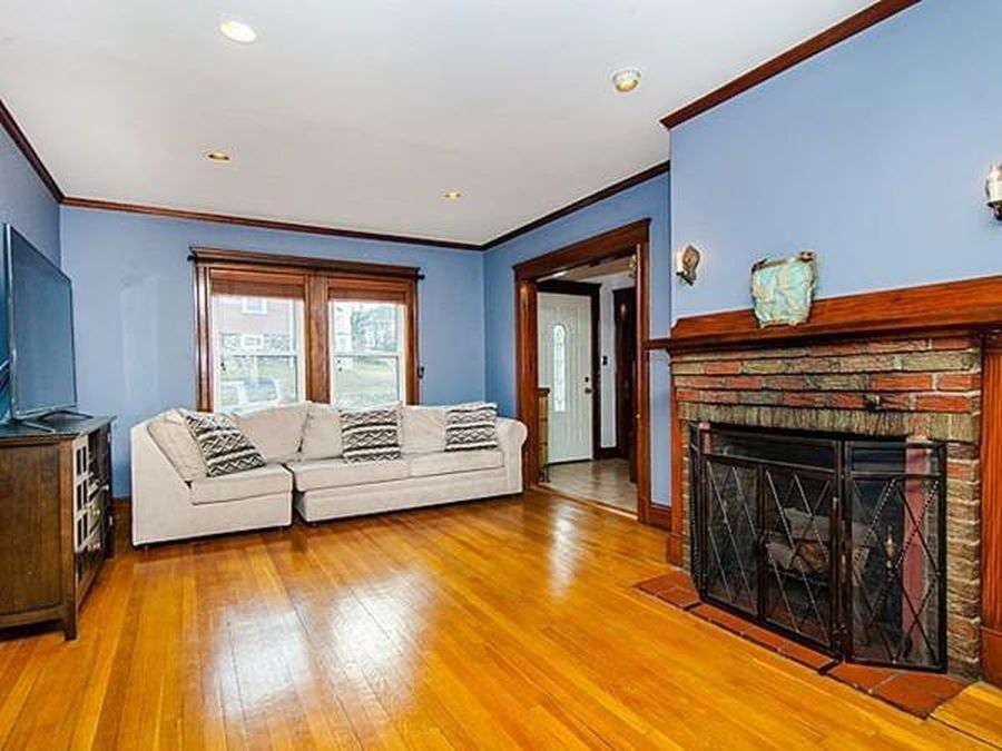 Roslindale Colonial Includes Brightly Finished Attic