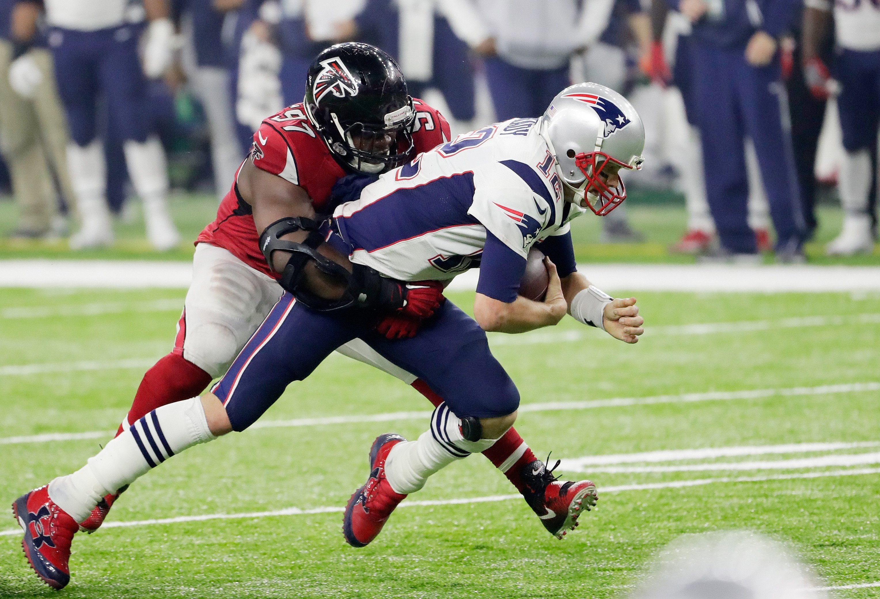 Image result for grady jarrett super bowl li