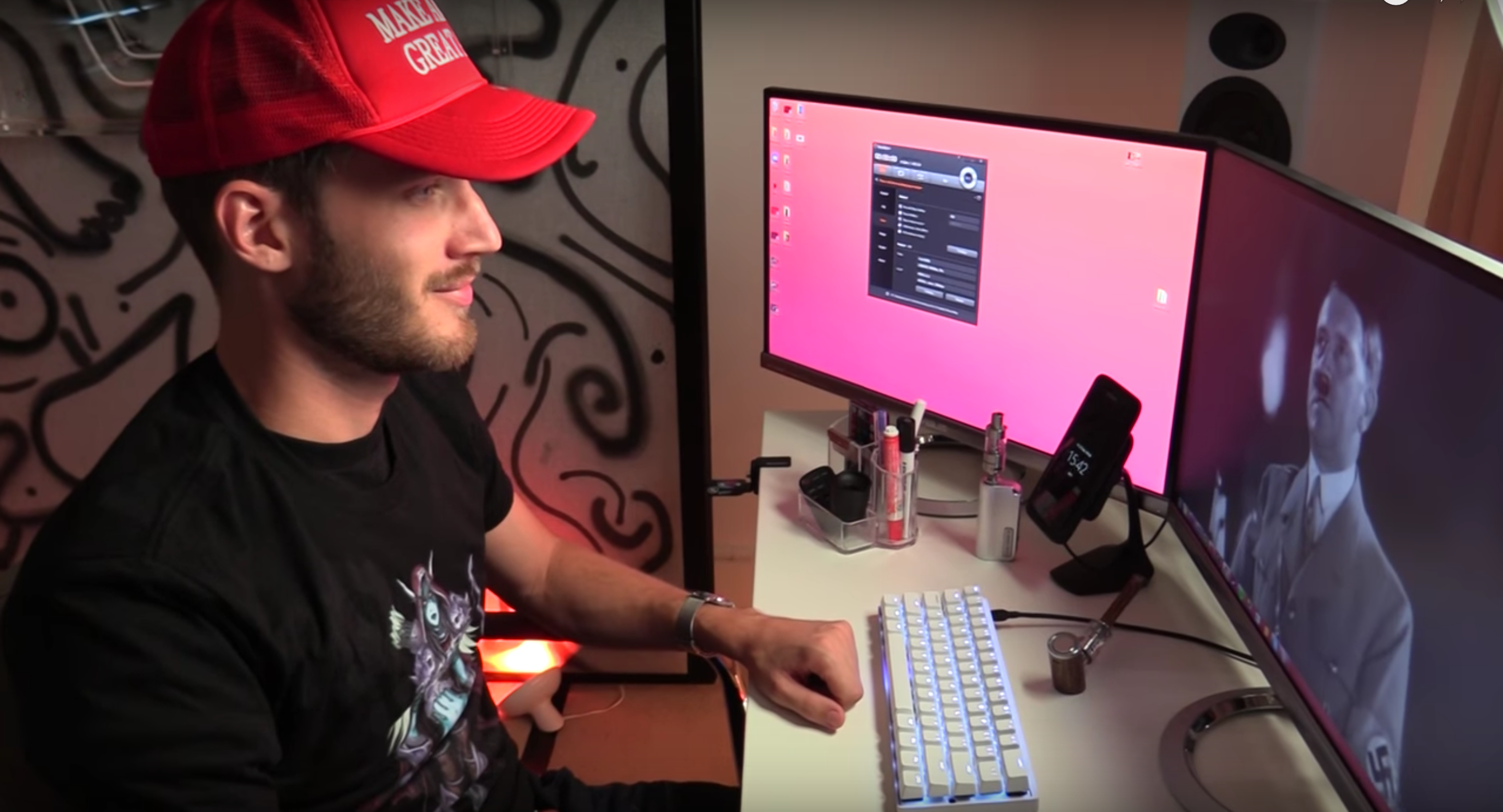PewDiePie Gets Dropped By Disney After Anti-Semitic Videos