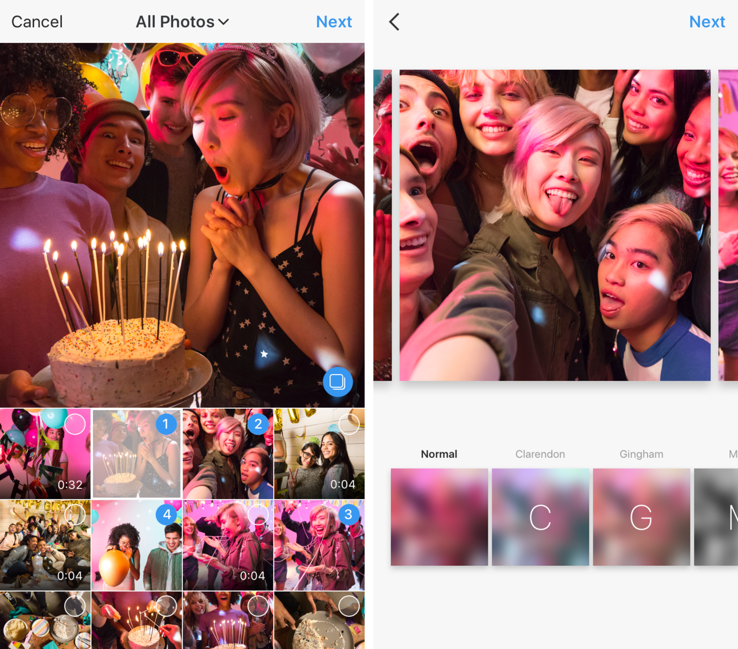 Instagram will now let you upload 10 photos at once