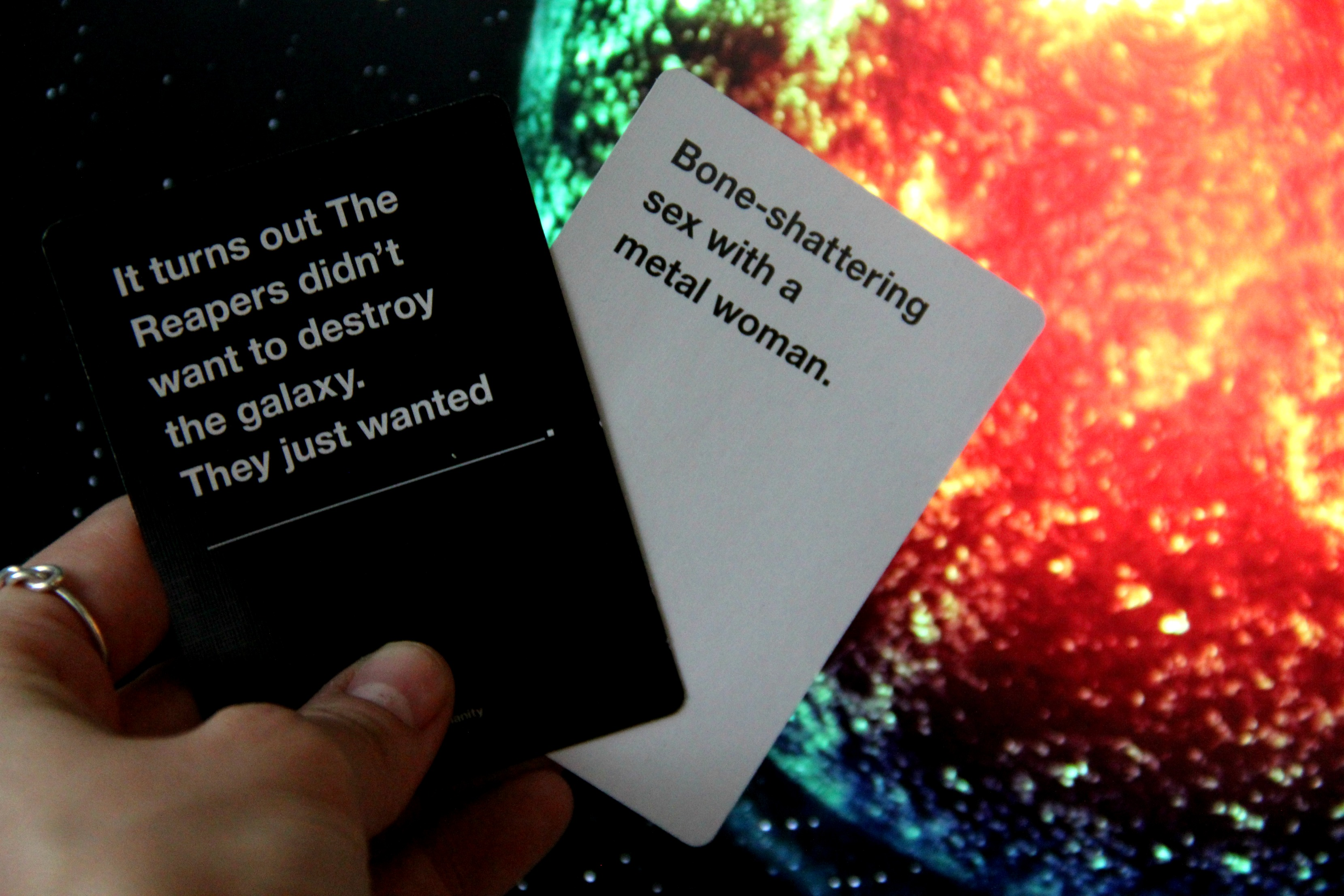 Cards Against Humanity Mass Effect