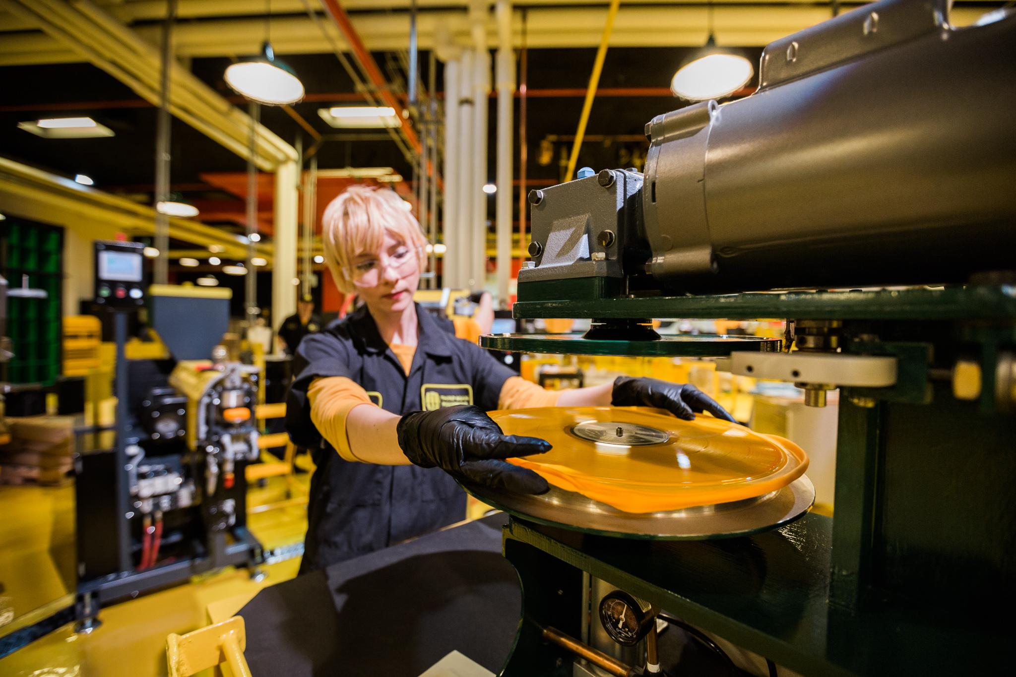 Photos Inside The Third Man Records Vinyl Pressing Plant