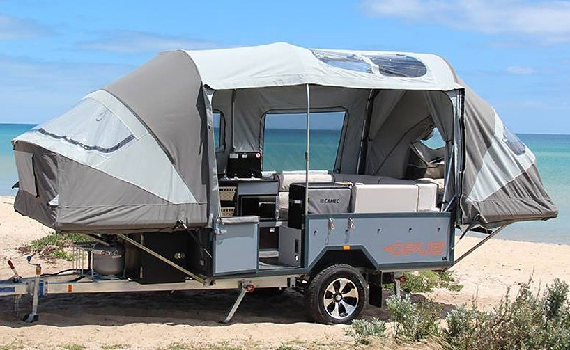 idea for garage sink - 5 cool camper trailers you can order right now Curbed