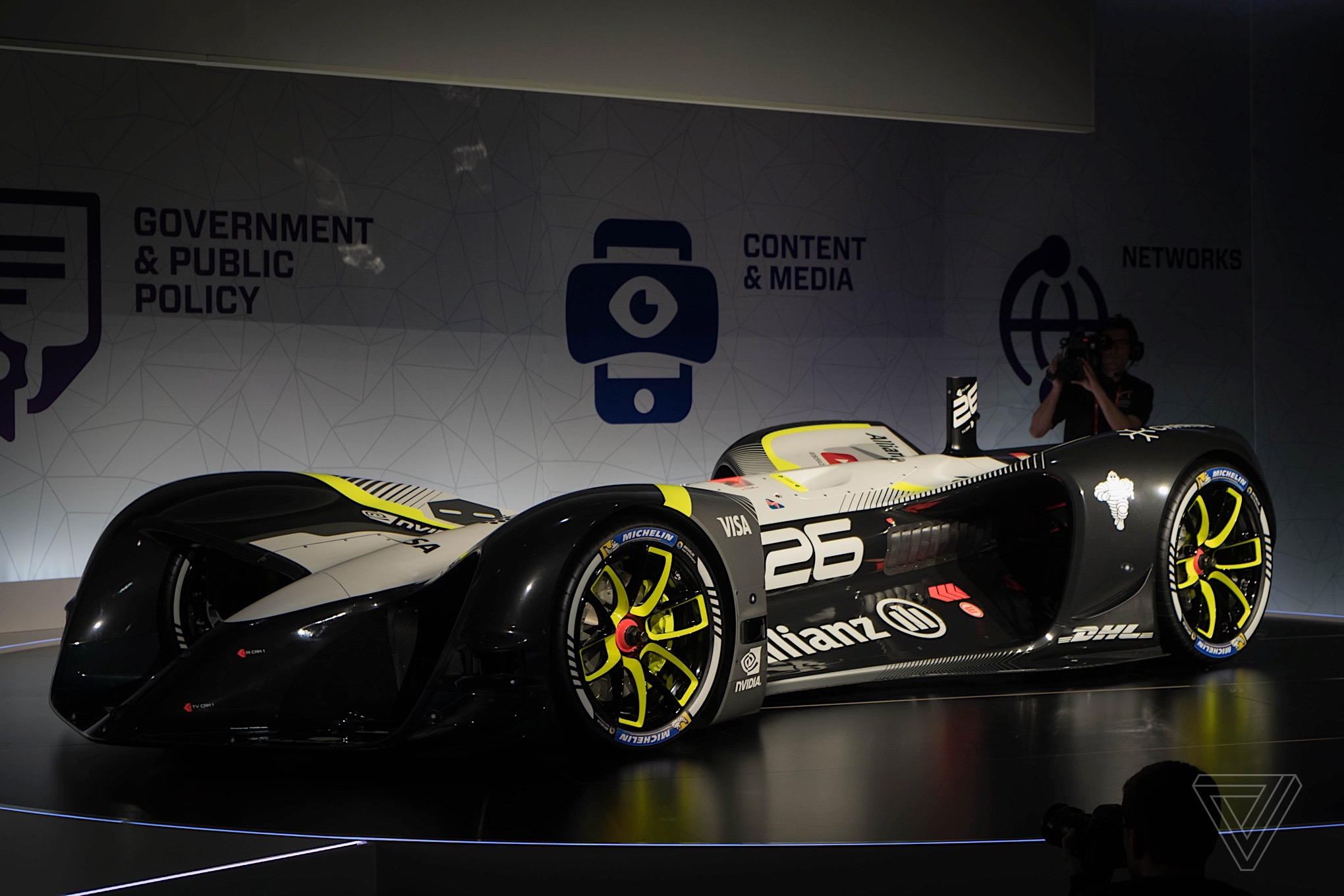 No driver required: Here's your first look at Roborace's self-driving Robocar