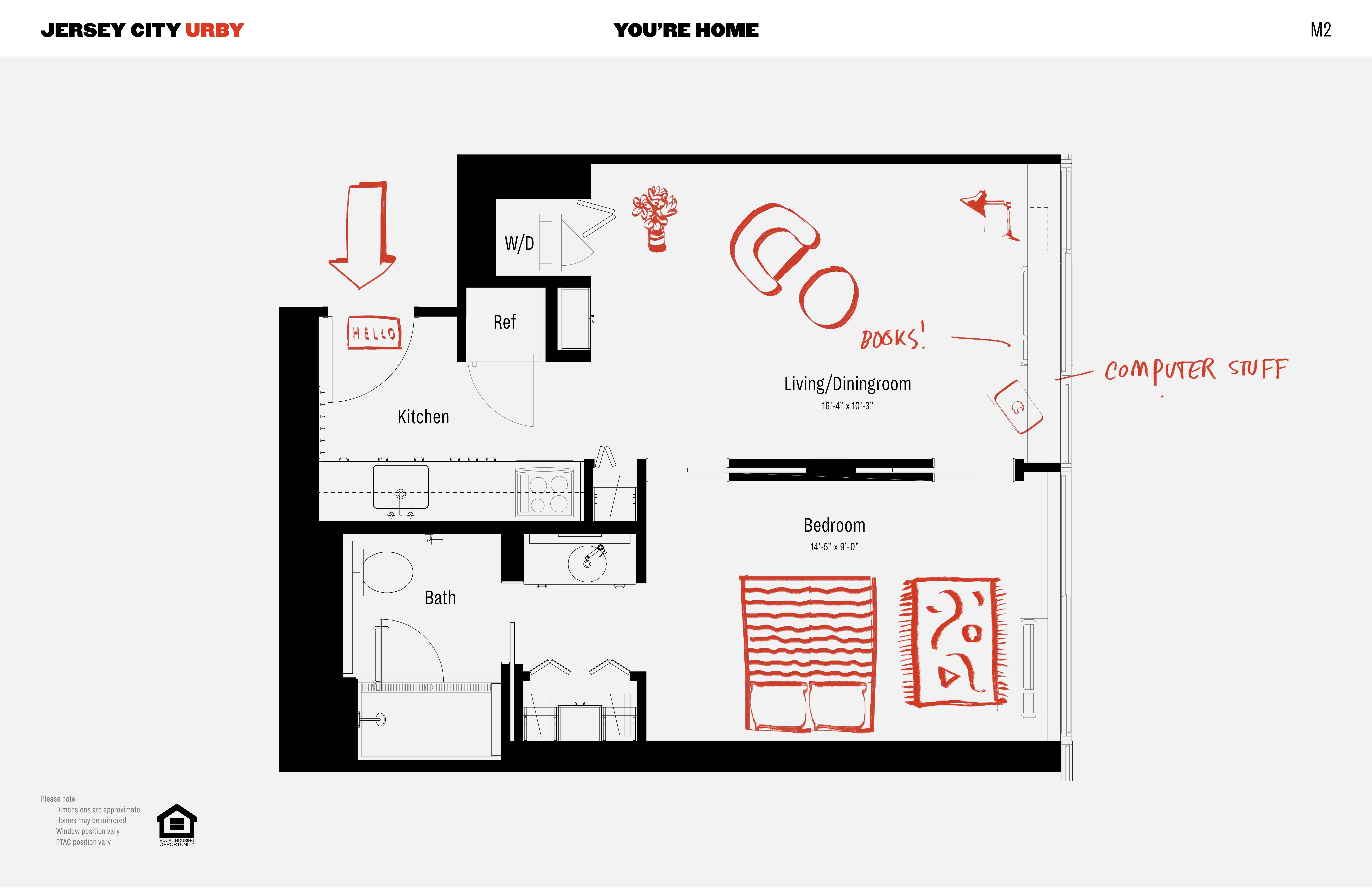1 Bedroom Apartments In Jersey City Home De Inspiration