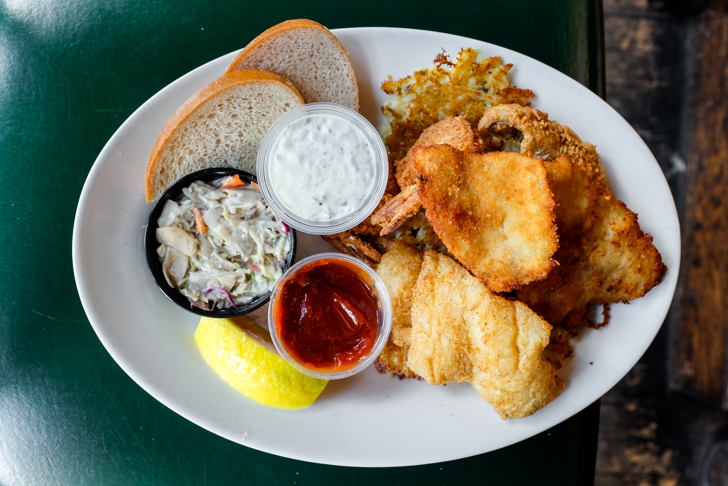 The simple golden crunch of a wisconsin fish fry eater for Best fish fry milwaukee