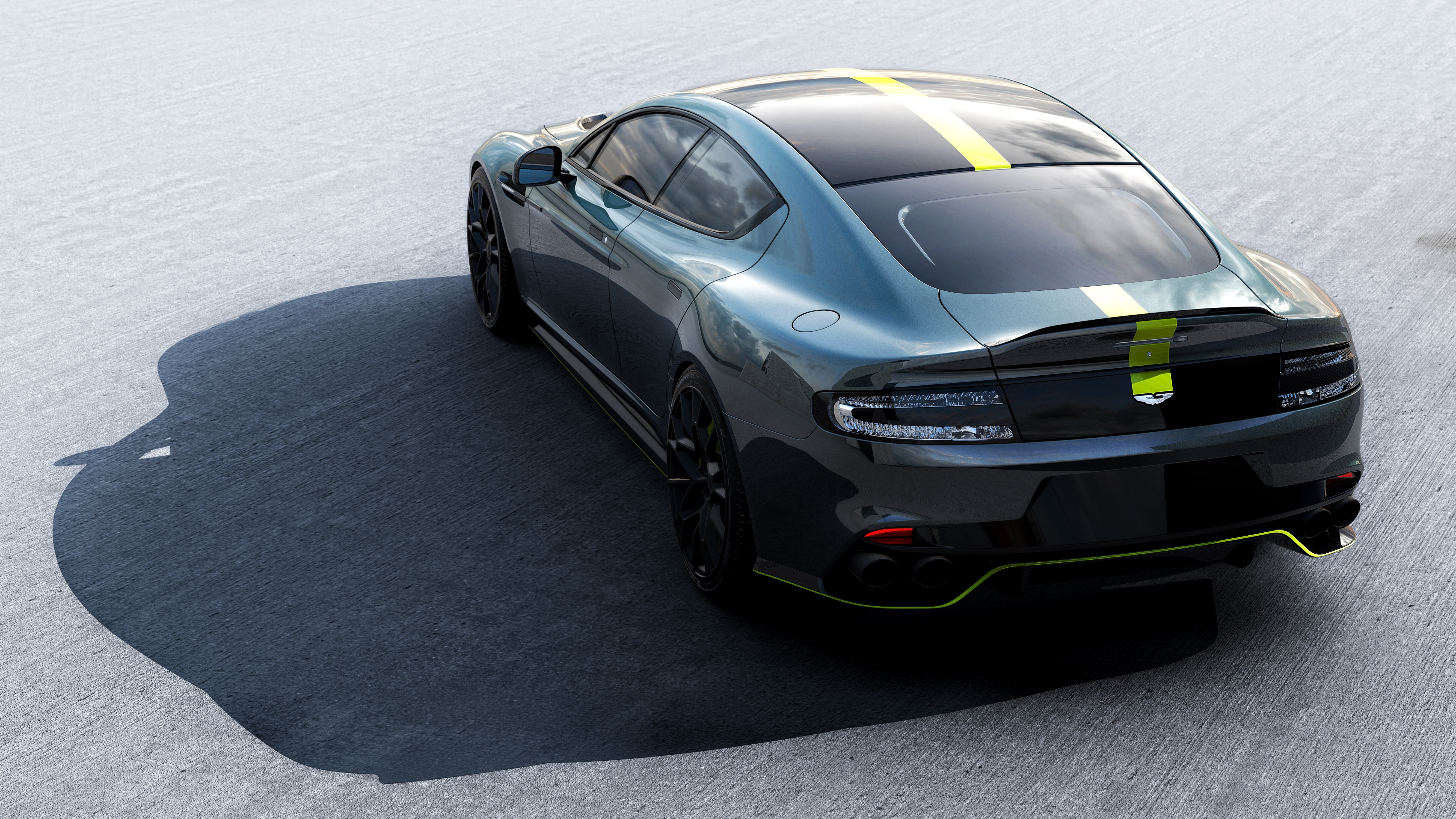 Aston Martin Makes The Amazing Rapide Sedan Even More Badass The Verge