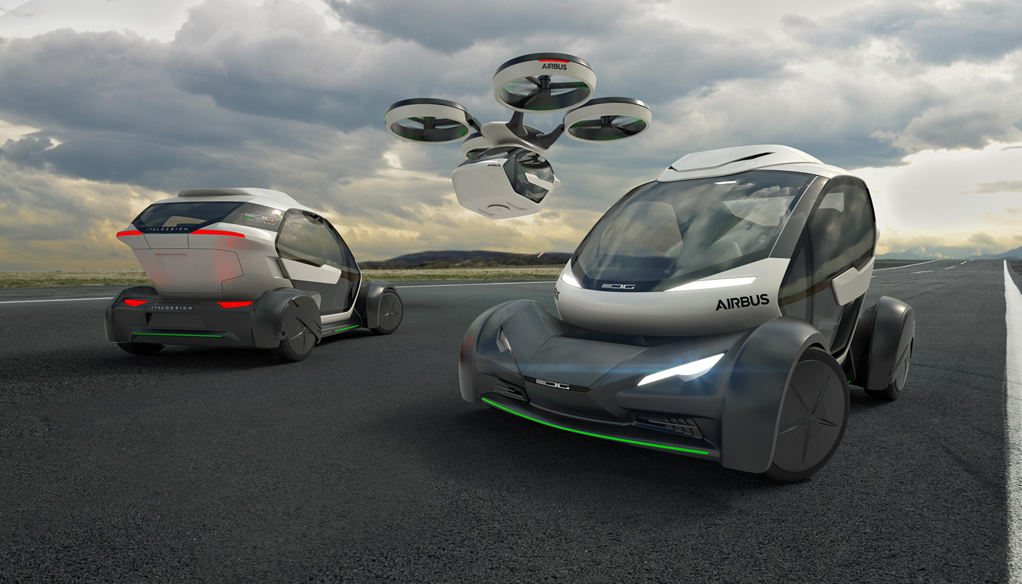 Airbus New Concept Is A Car Drone And Train All In One
