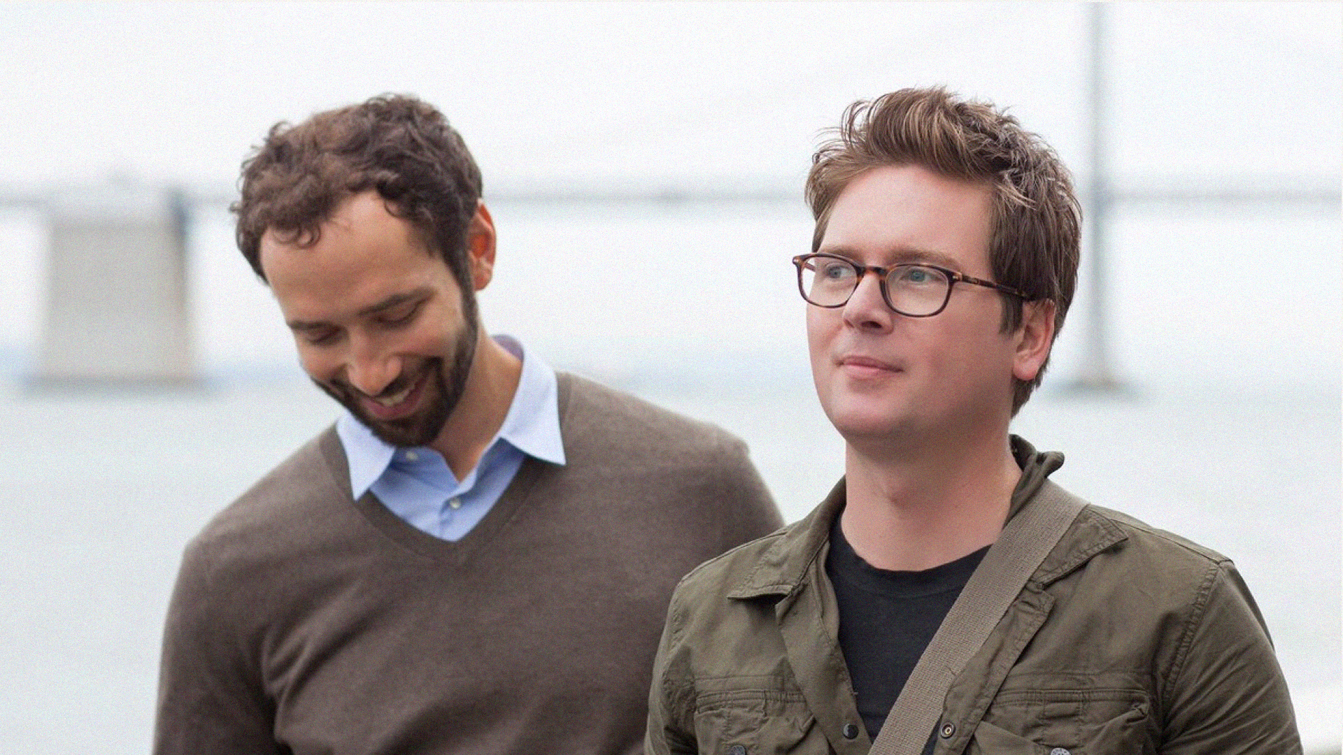 Ben Finkel, left, and Biz Stone