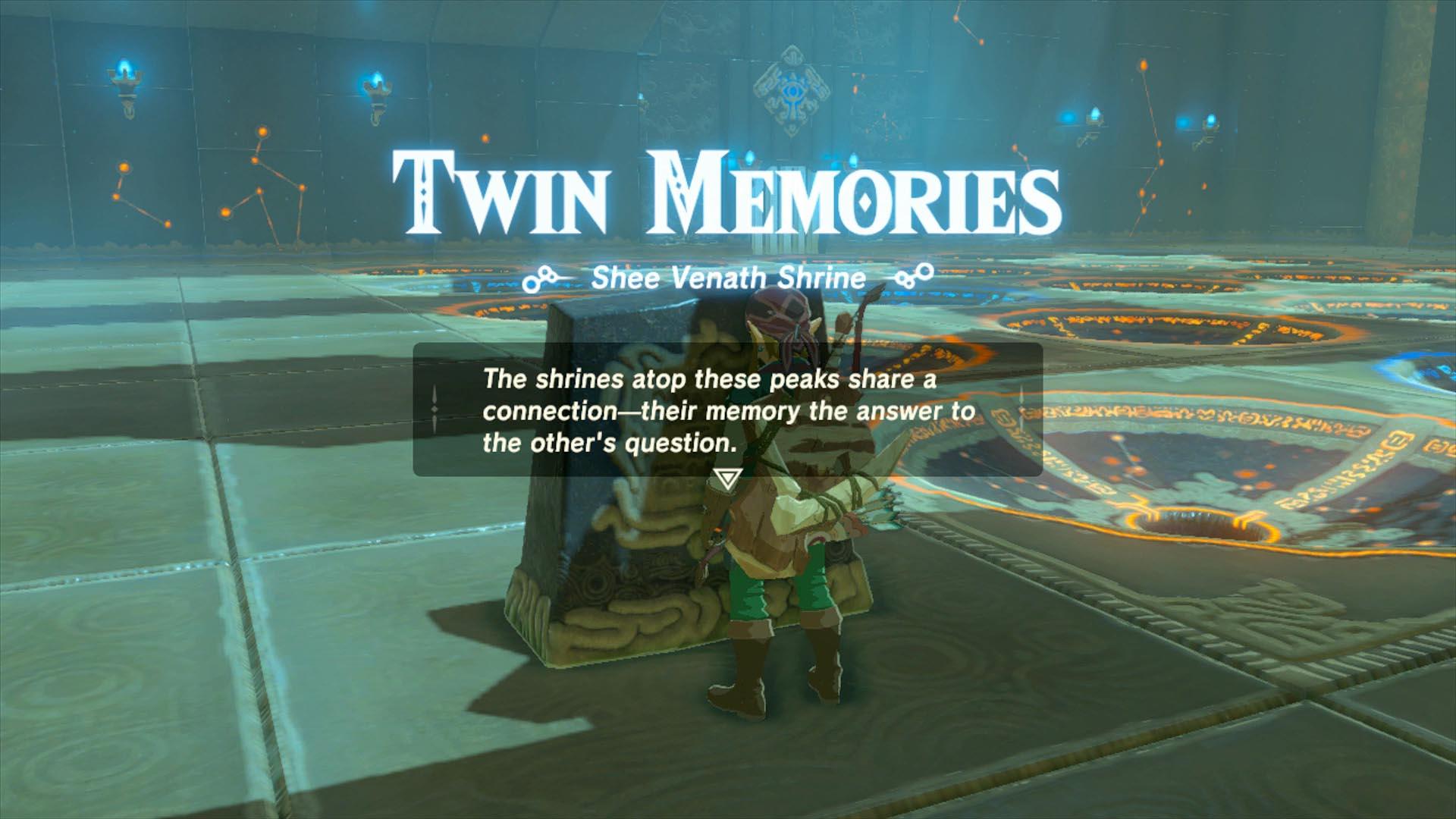 Twin Memories Shee Vaneer And Shee Venath Shrines