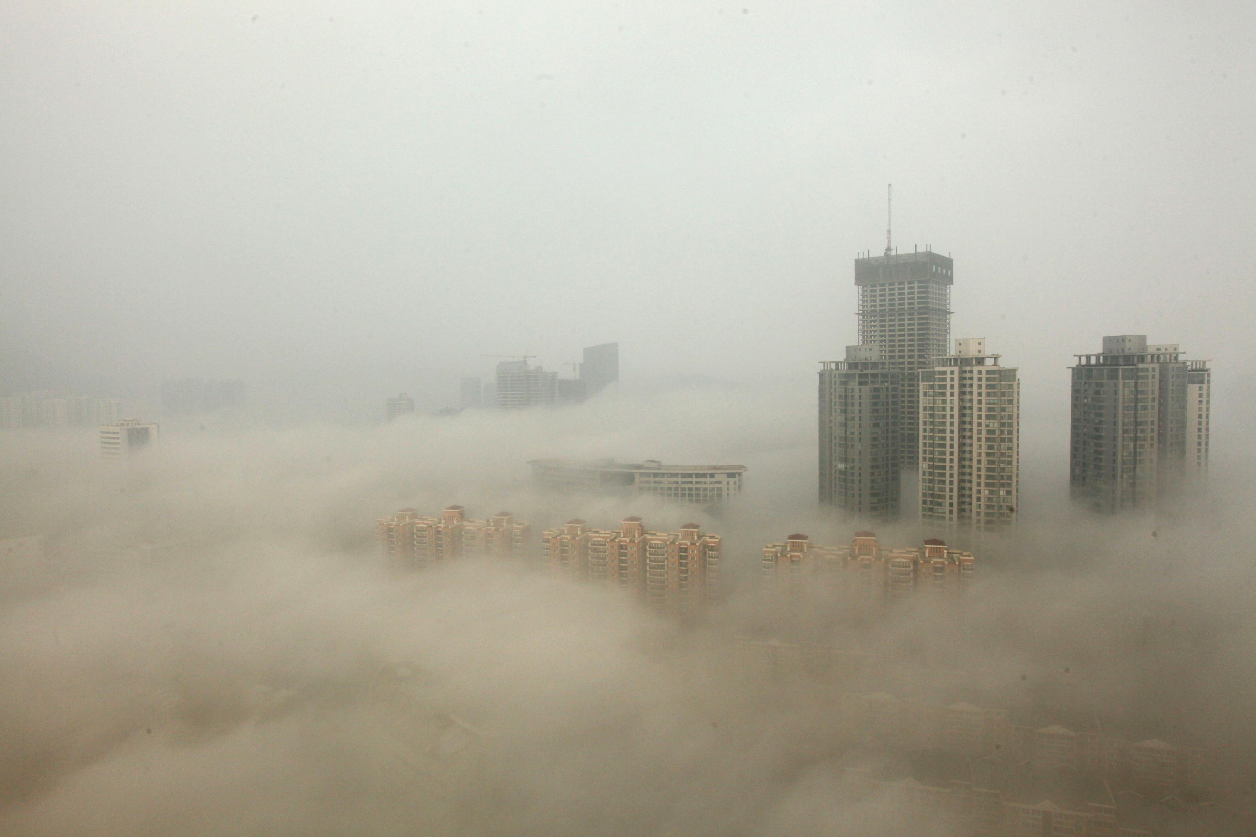 Melting Arctic ice likely worsens winter haze in China