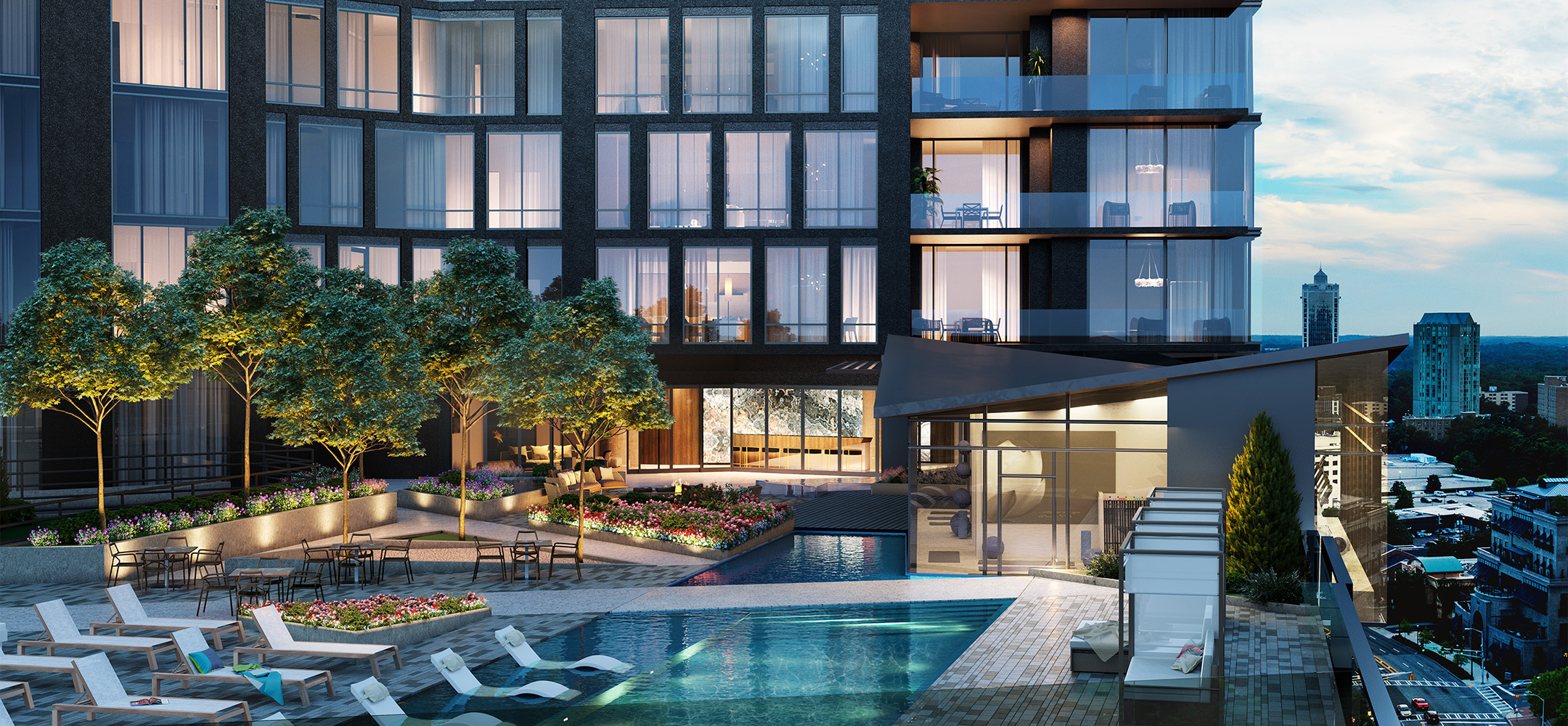At Buckhead S Ritzy The Charles Expect 4m Condo Prices