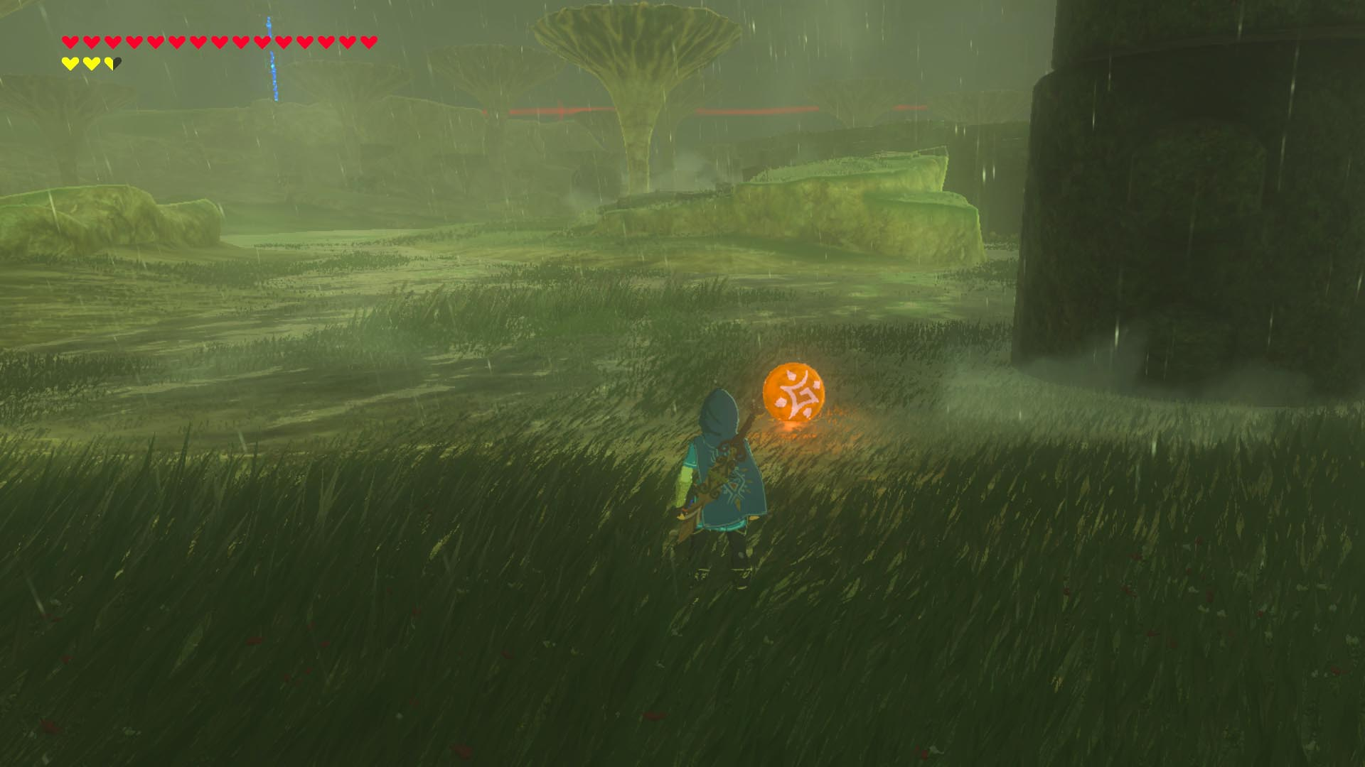 Zelda breath of the wild guide trial of thunder shrine for Bureau zelda