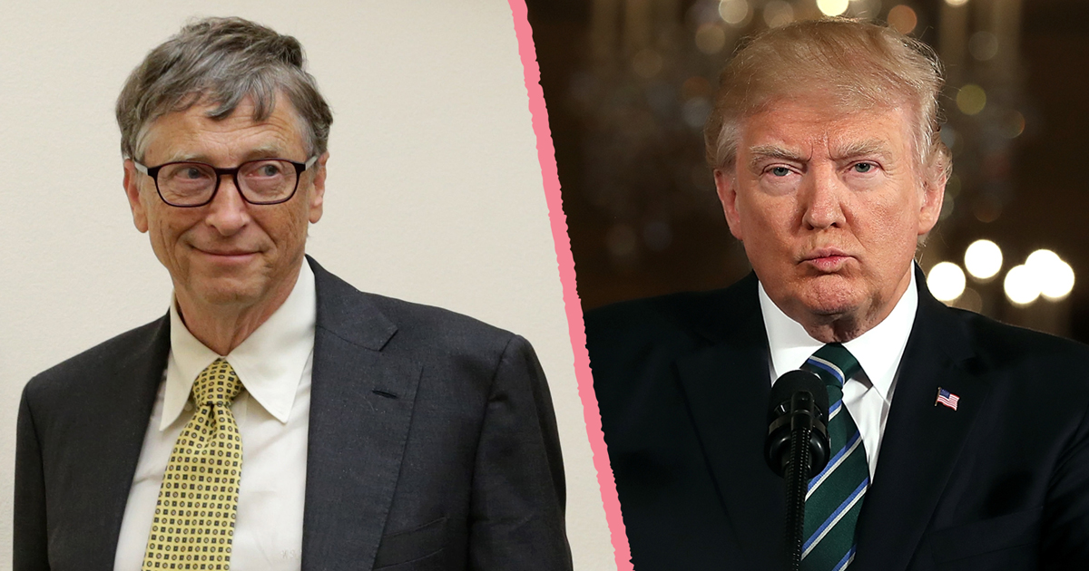 Bill Gates again tops Forbes rich list; Trump slips 220 spots