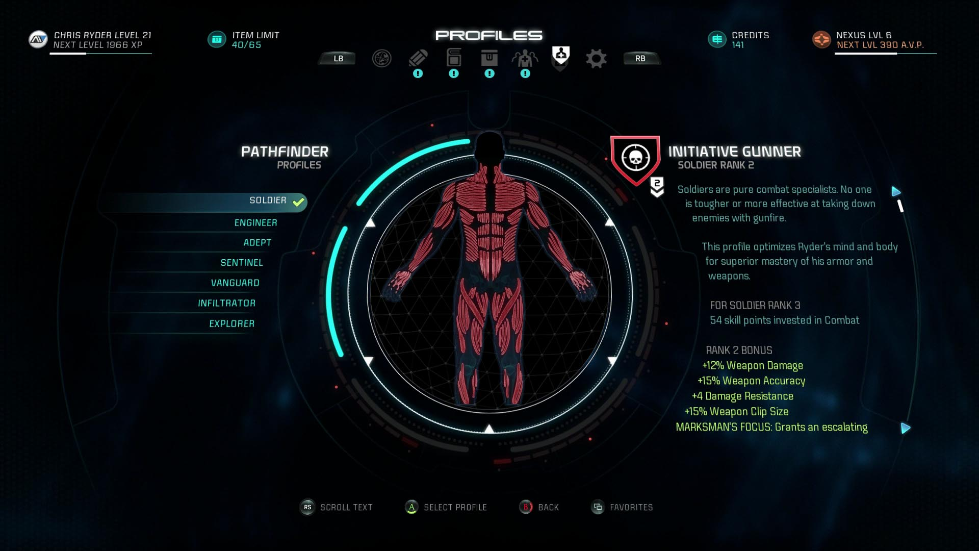Andromeda Best Story Build