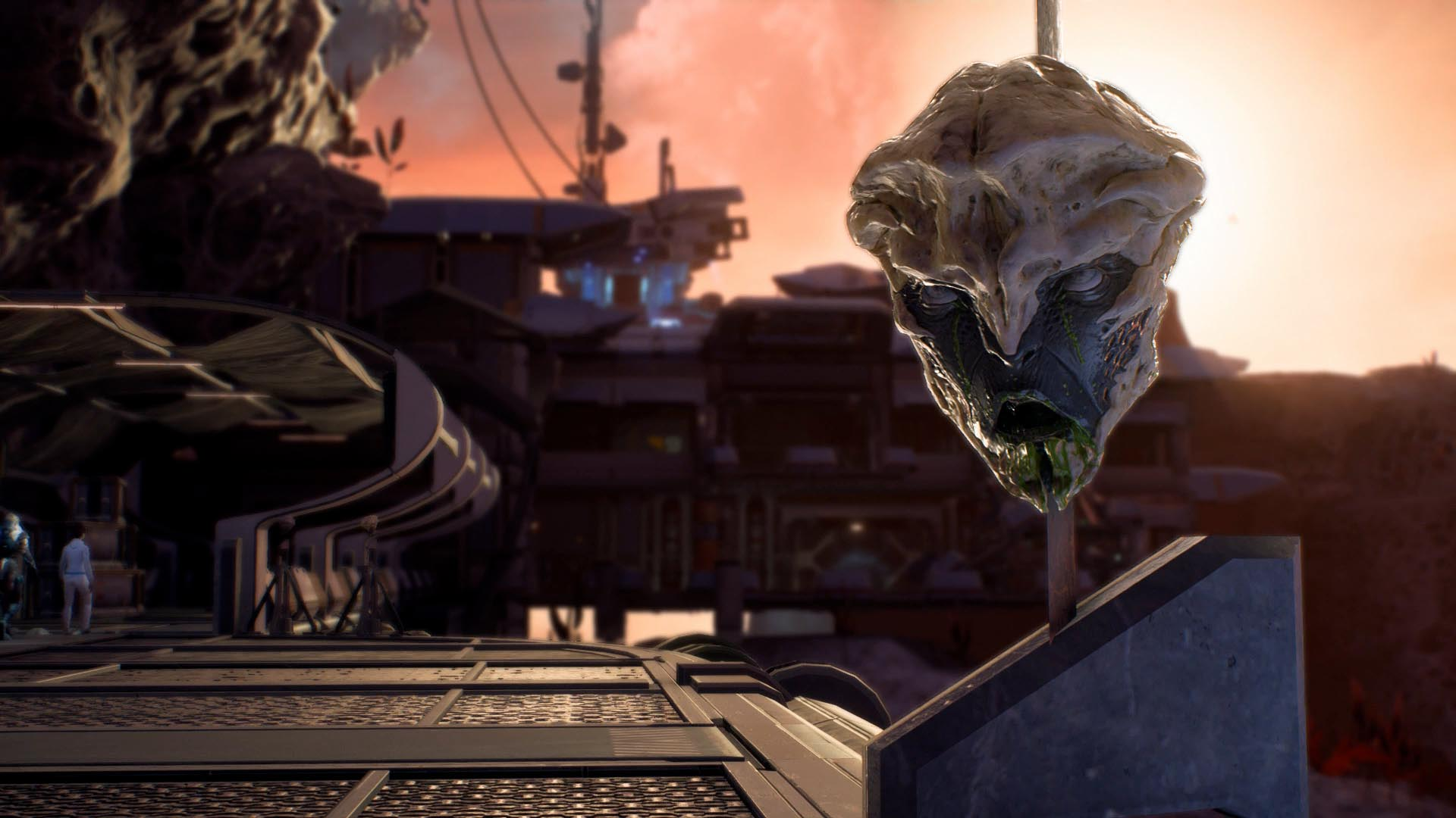Mass Effect Andromeda Guide Hunting The Archon Walkthrough Polygon