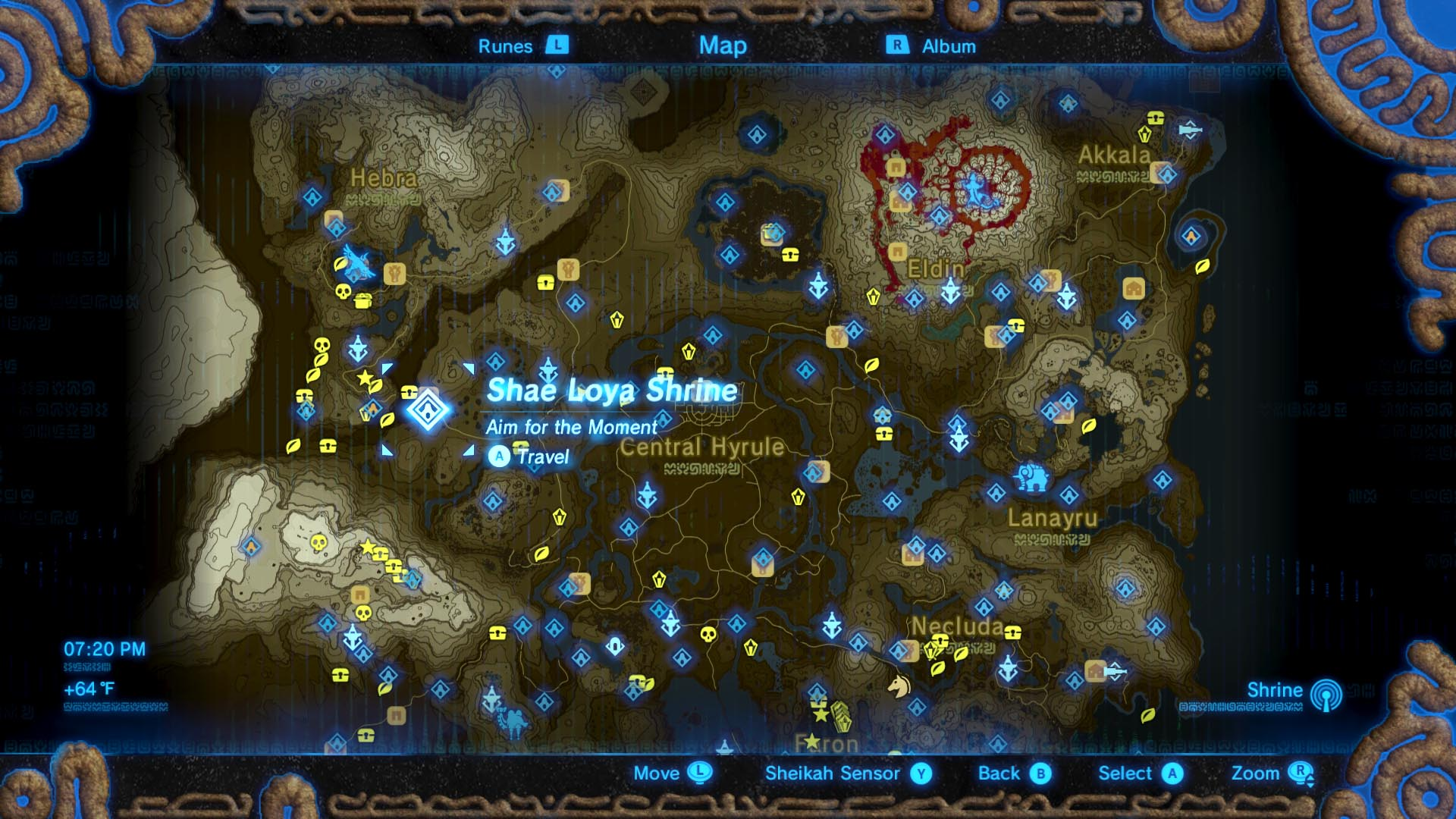 Zelda: Breath of the Wild guide: Shae Loya shrine location