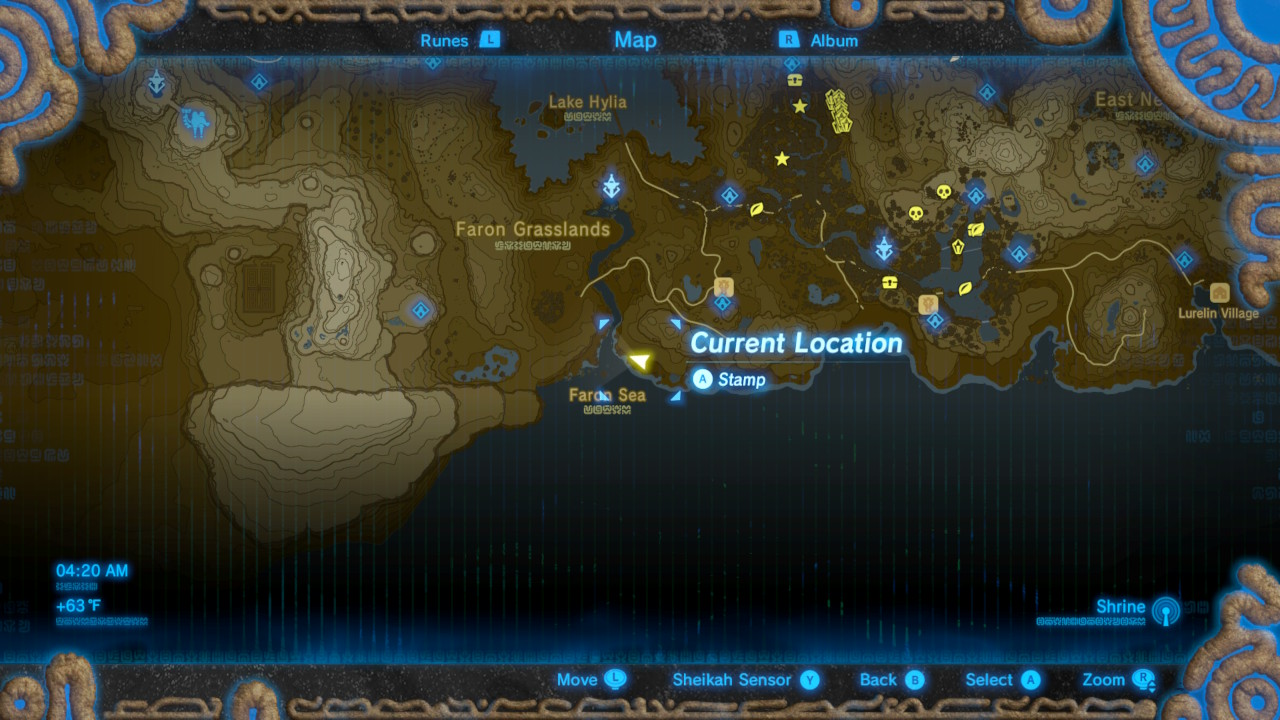 Zelda breath of the wild guide guardian slideshow shrine quest grid view gumiabroncs Images