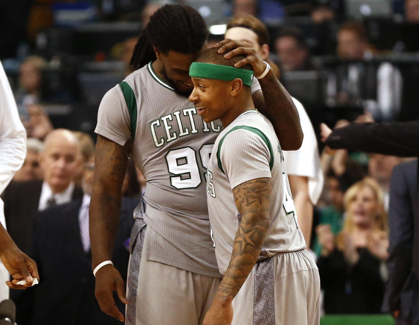 Celtics clinch No. 1 seed in East, beat Bucks 112-94