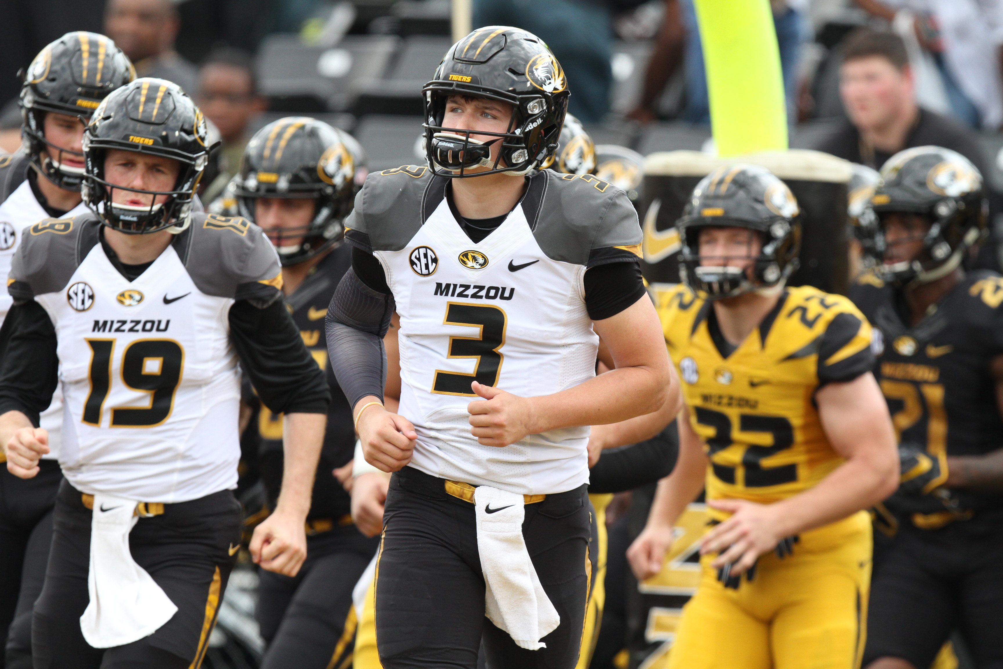 PHOTO GALLERY: Missouri's Black and Gold Game - Rock M Nation