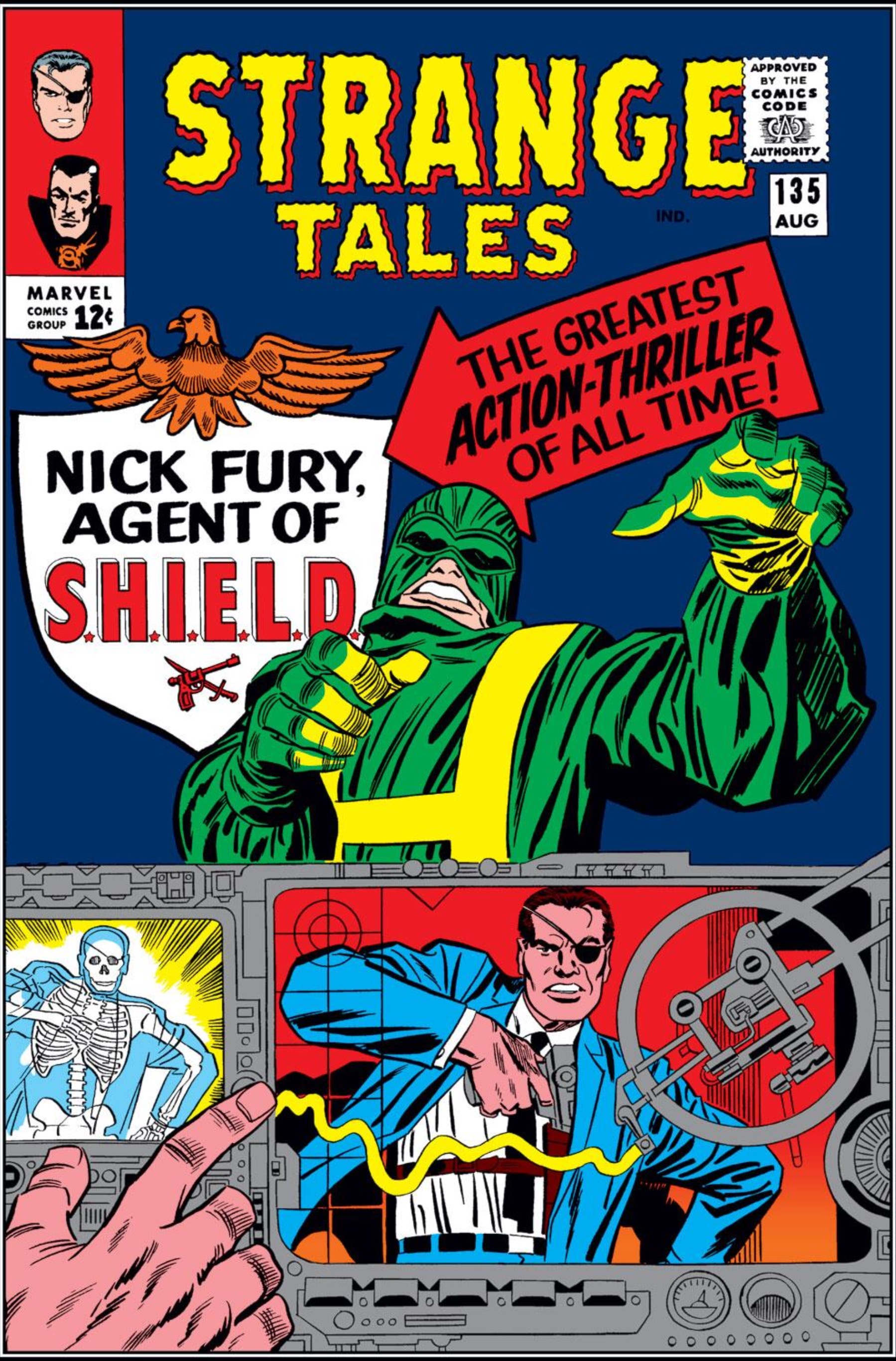Strange Tales #135 cover