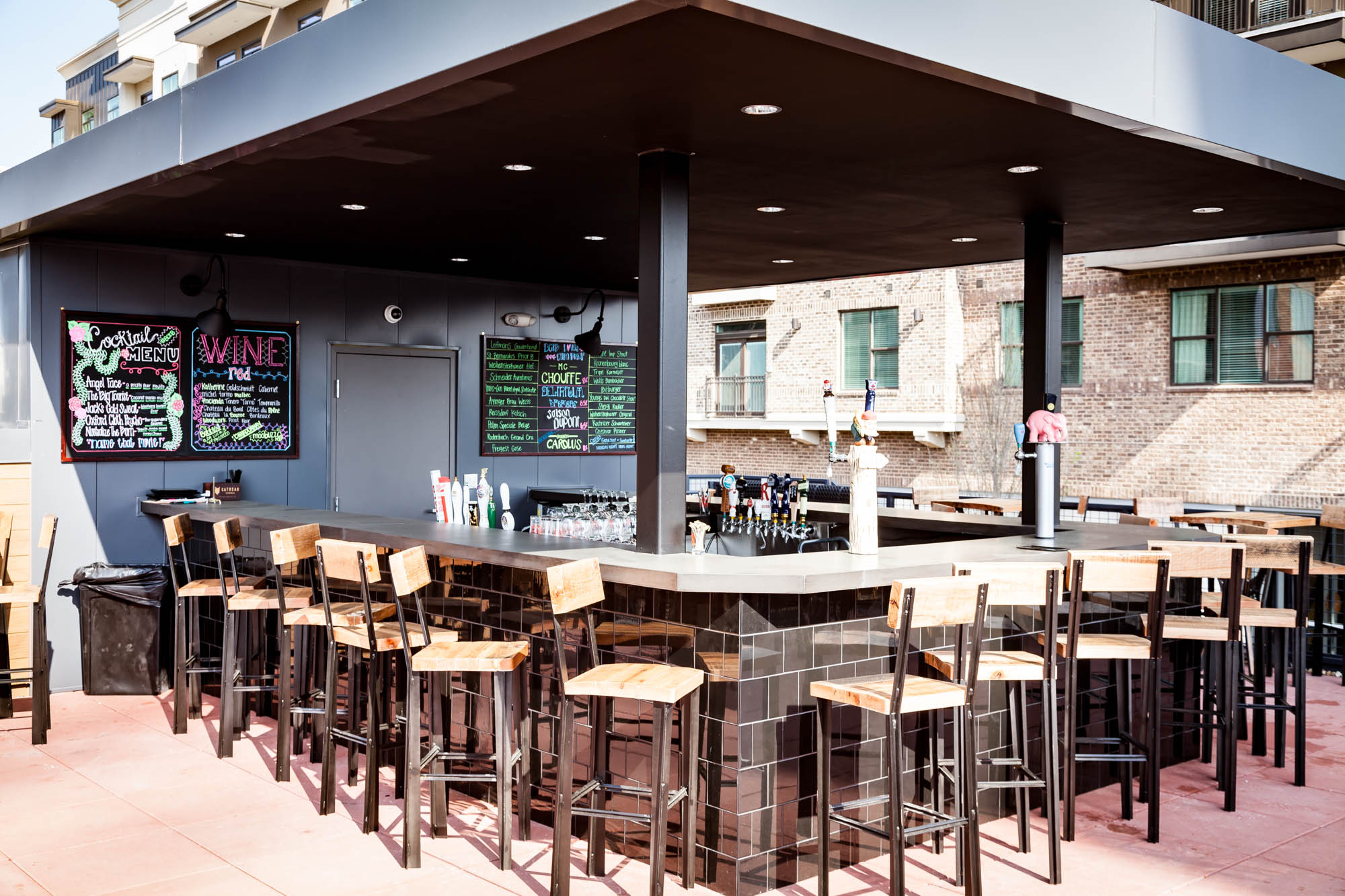 Garden Kitchen Inside Barleygarden Kitchen Craft Bar The Hop City Teams New
