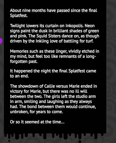 The Last Splatfest Actually Influenced Splatoon 2's Story, Holy Shit