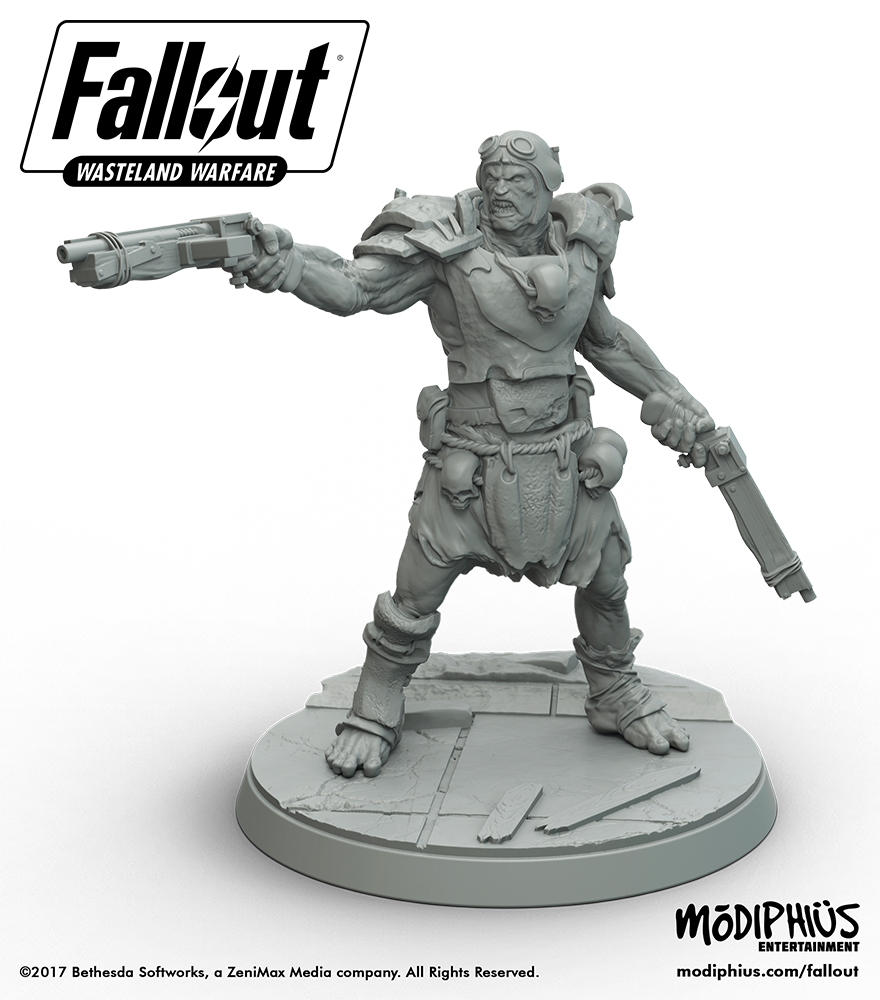 There's a Fallout-themed Tabletop Miniatures Game on the Way