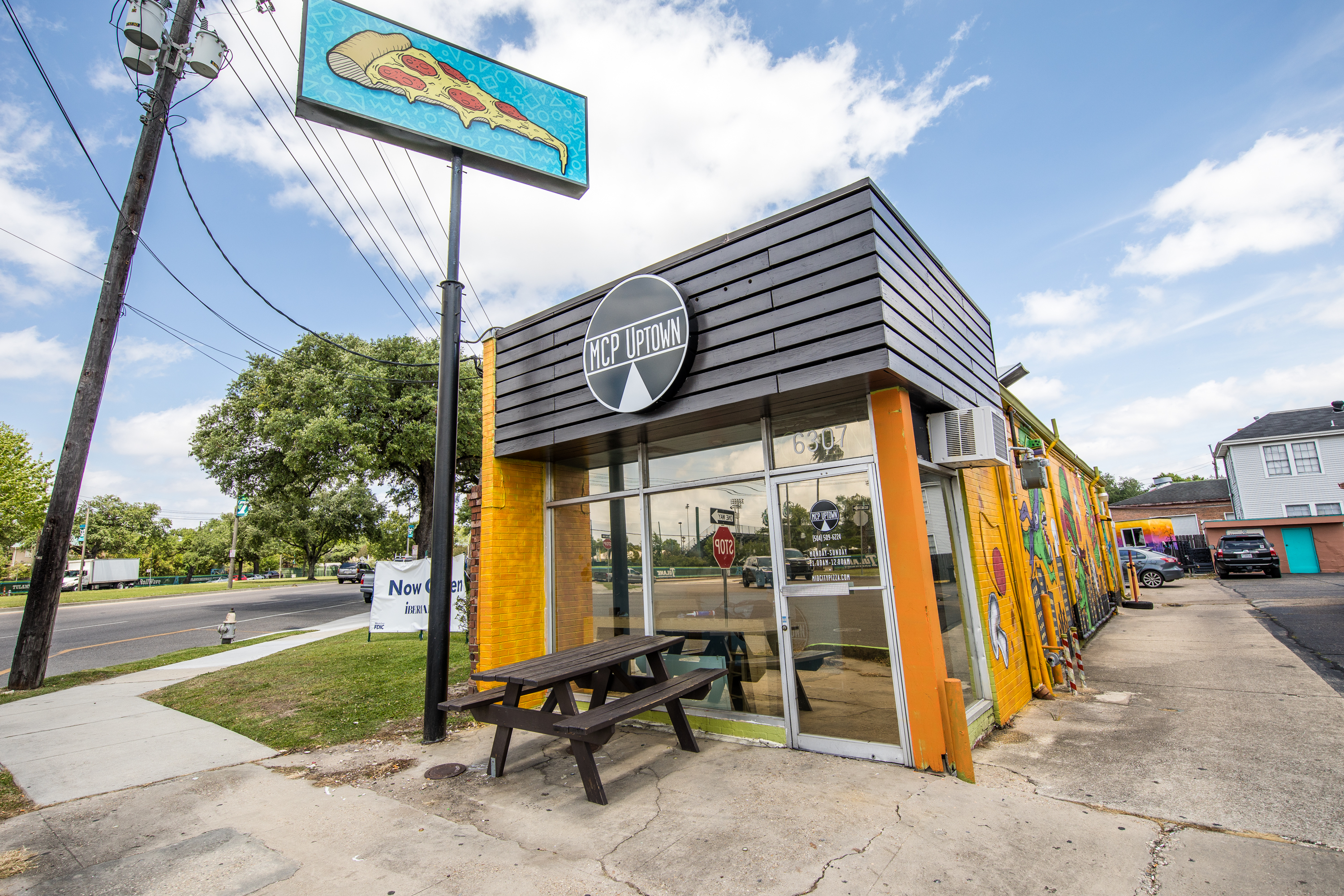 take a first look at mcp uptown a new pizza spot on claiborne eater new orleans. Black Bedroom Furniture Sets. Home Design Ideas