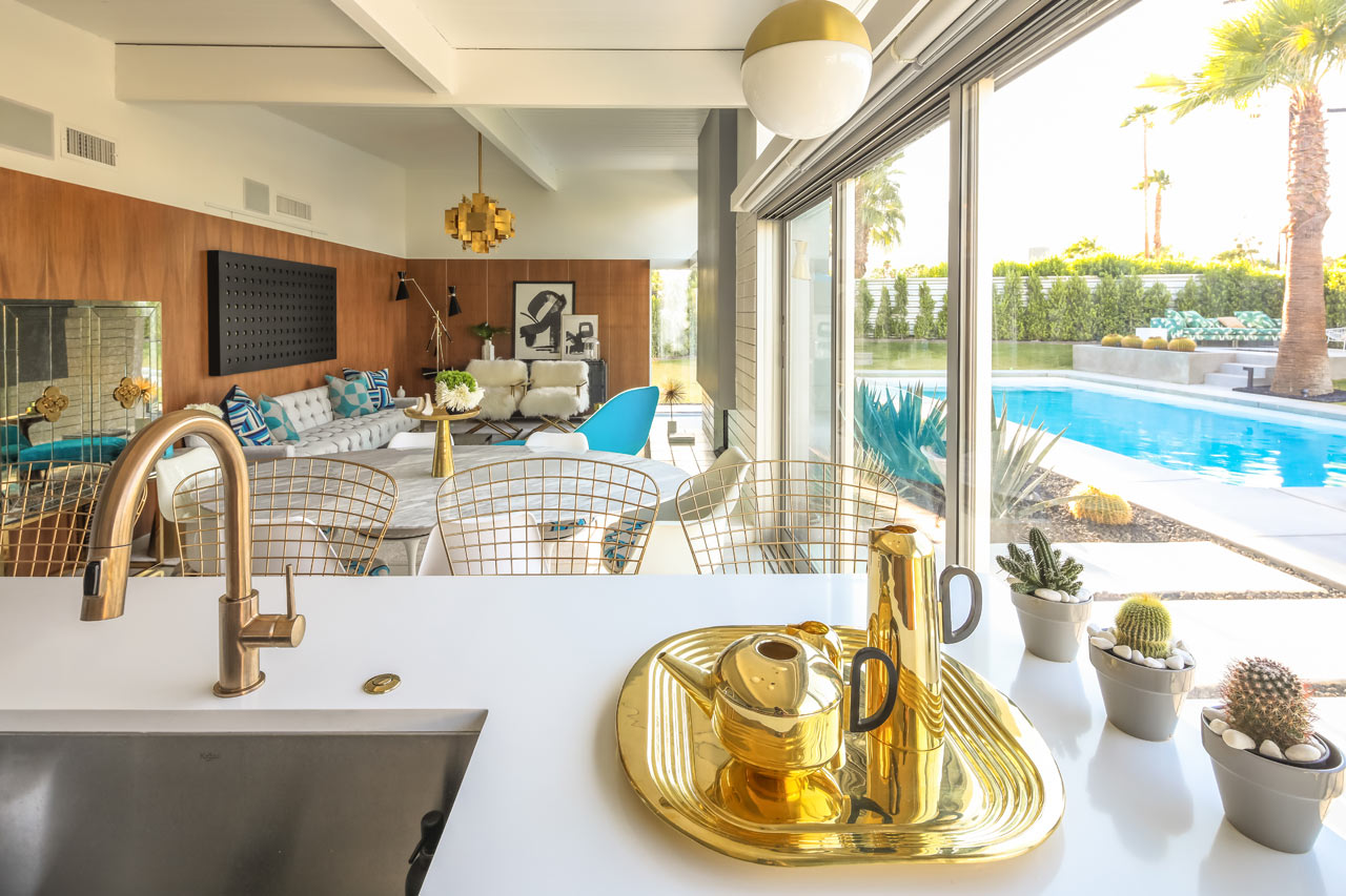 In Palm Springs Renovation A Little Color Goes A Long Way Curbed