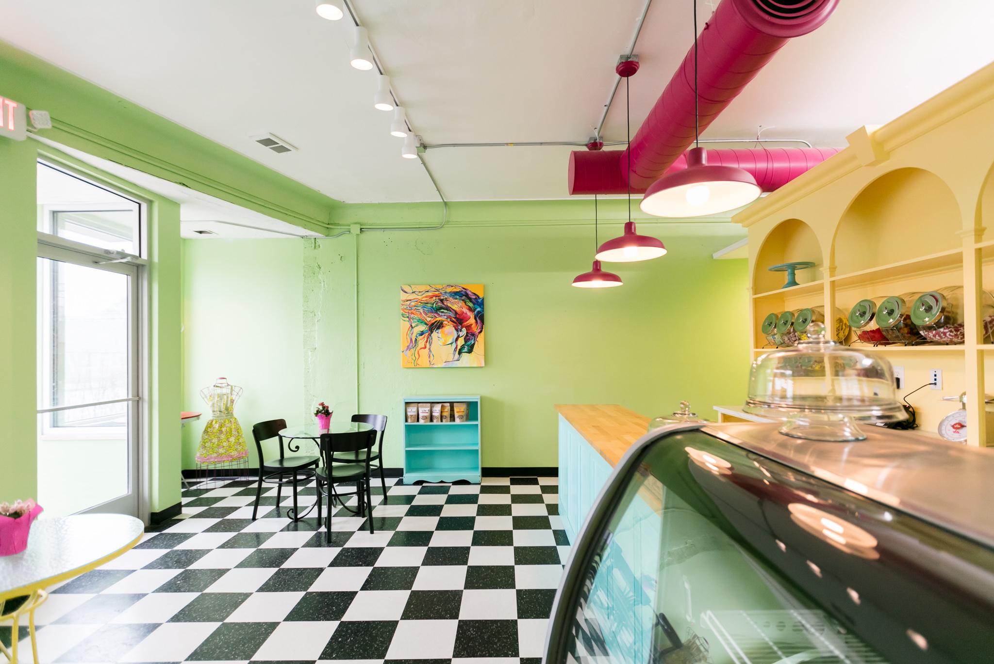 Inside Cake Ambition S Charmingly Retro Detroit Bakeshop