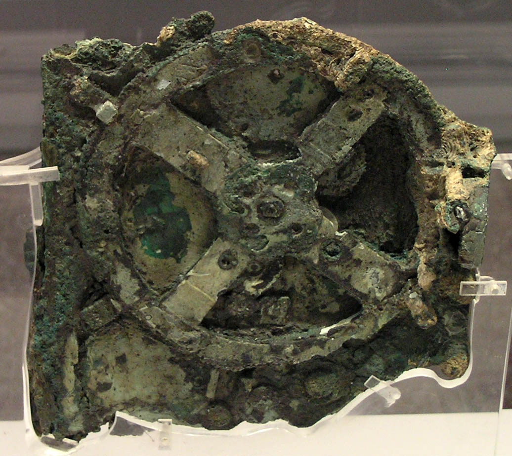 Computer forerunner the Antikythera mechanism marked by Google's Doodle