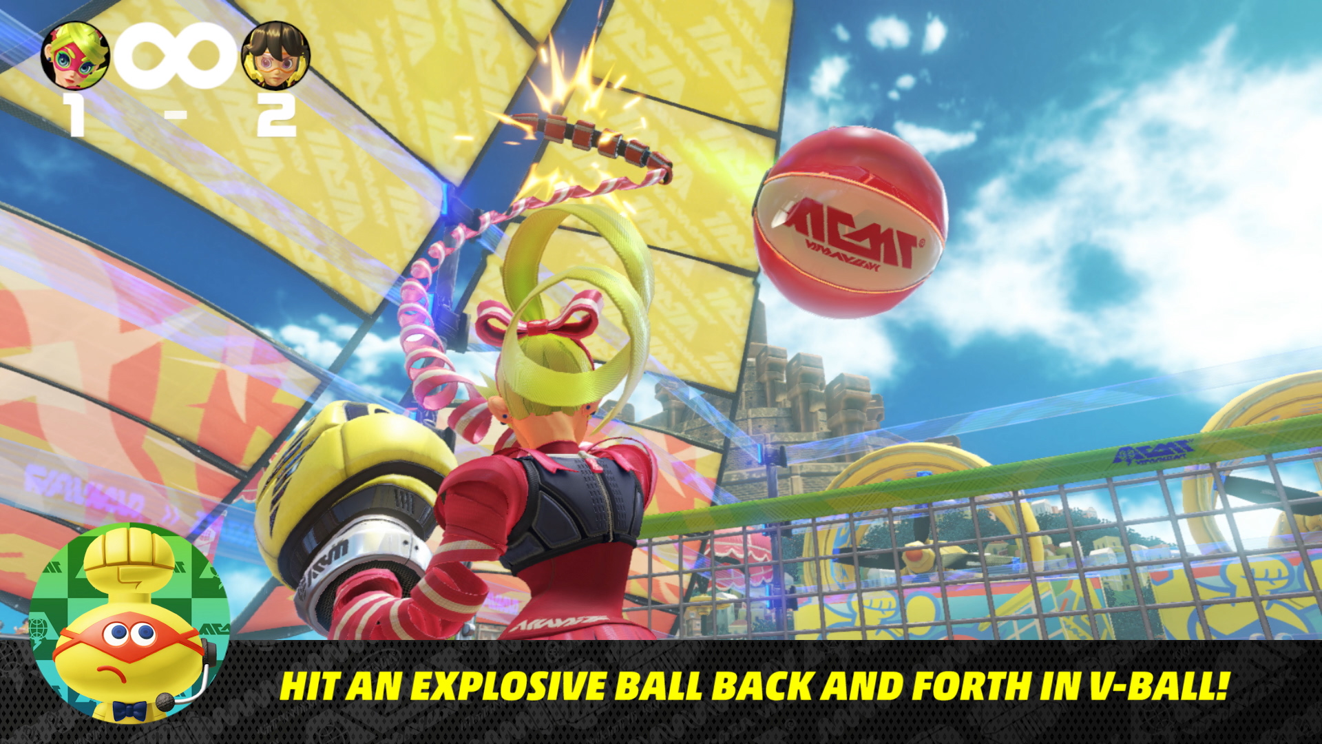 Nintendo Direct 5/17/17 - Arms V-Ball