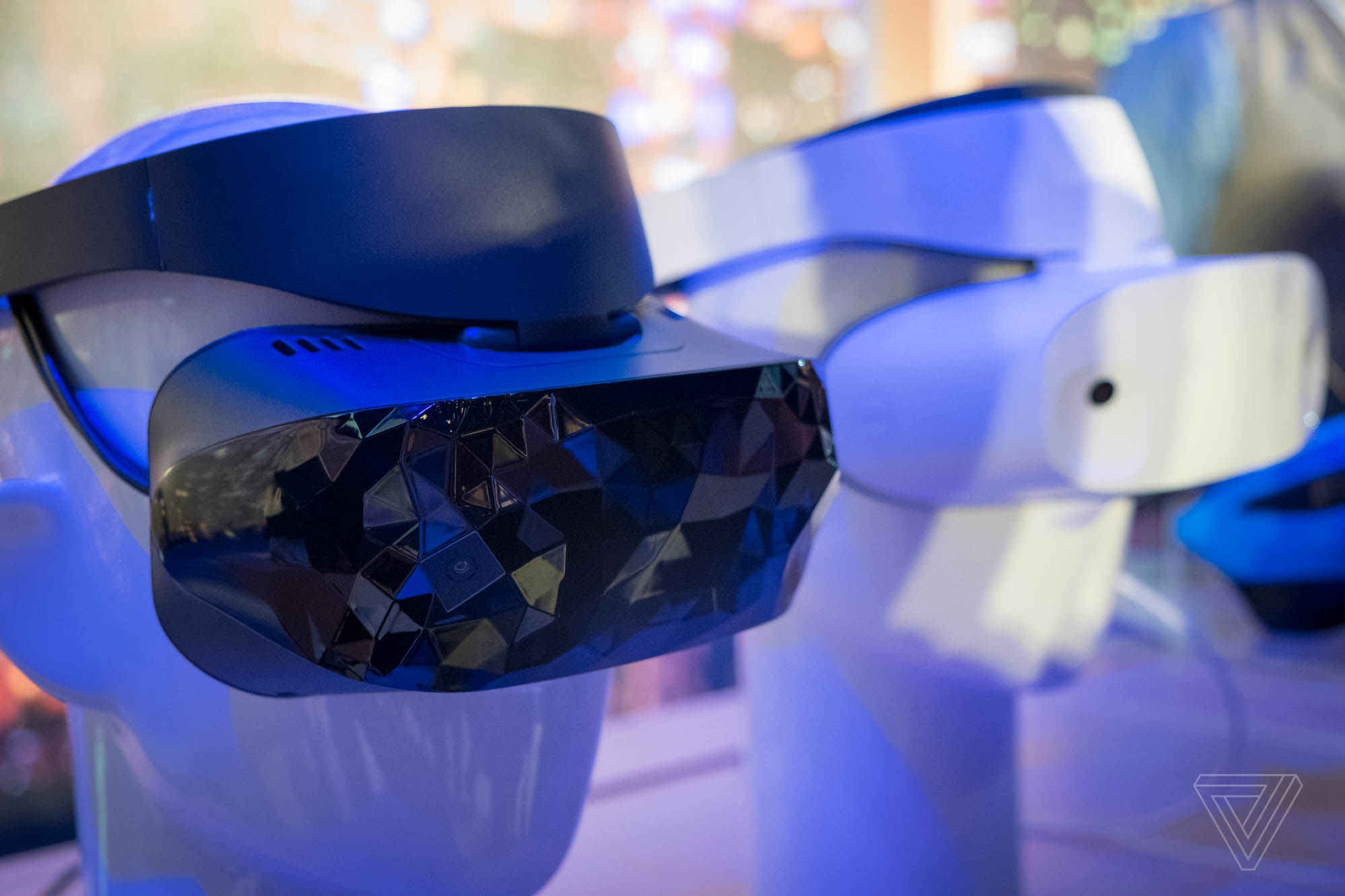Microsoft showcases Windows Mixed Reality headsets