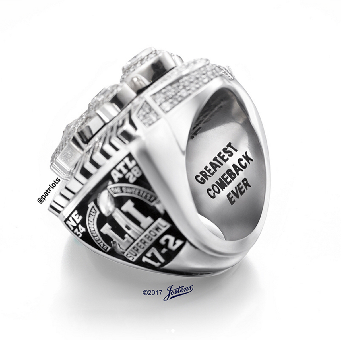 patriots diamond new sky super england rings news nfl ring bowl
