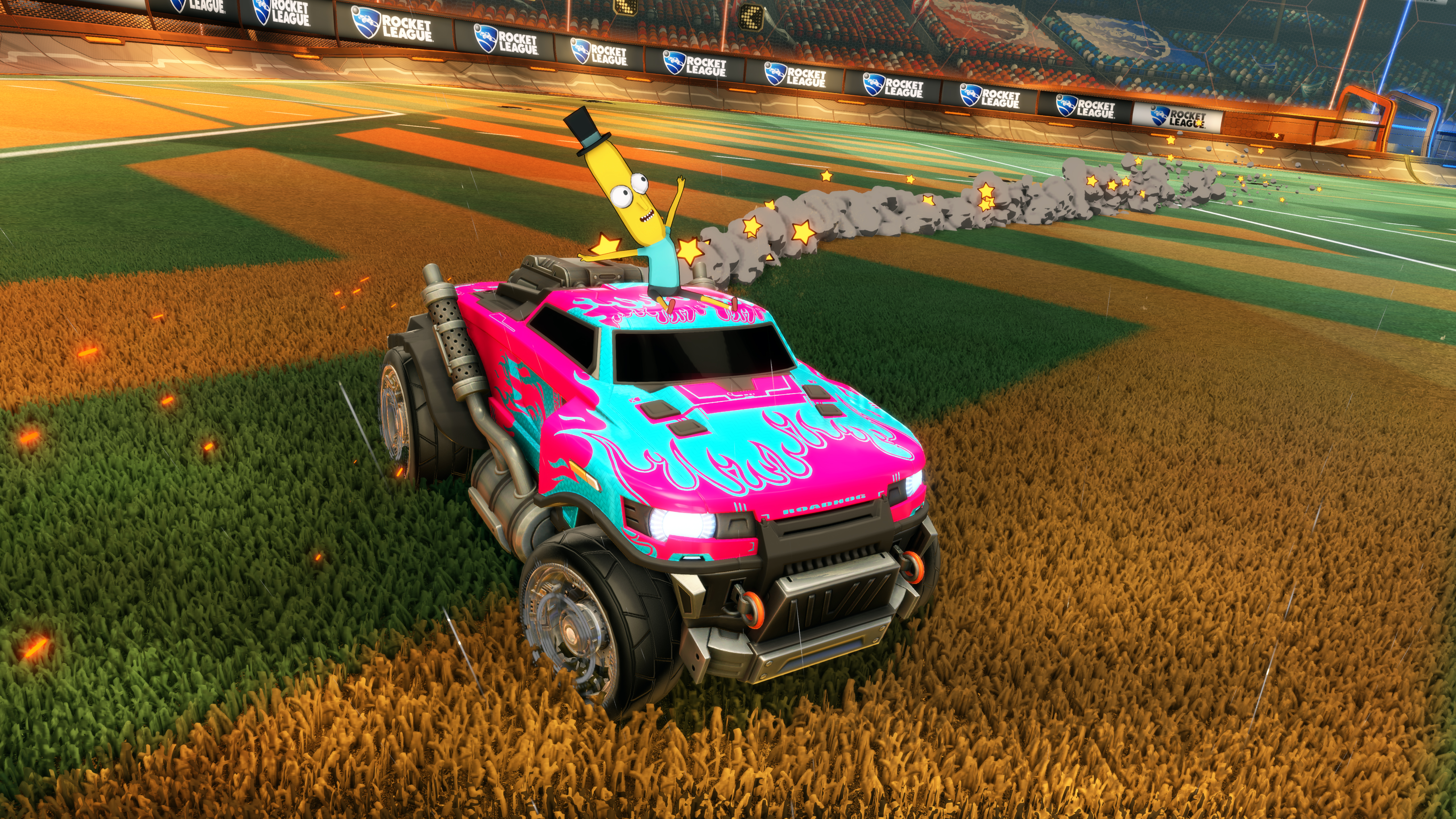 c0a9ddbc85dbd Rick and Morty are taking over Rocket League