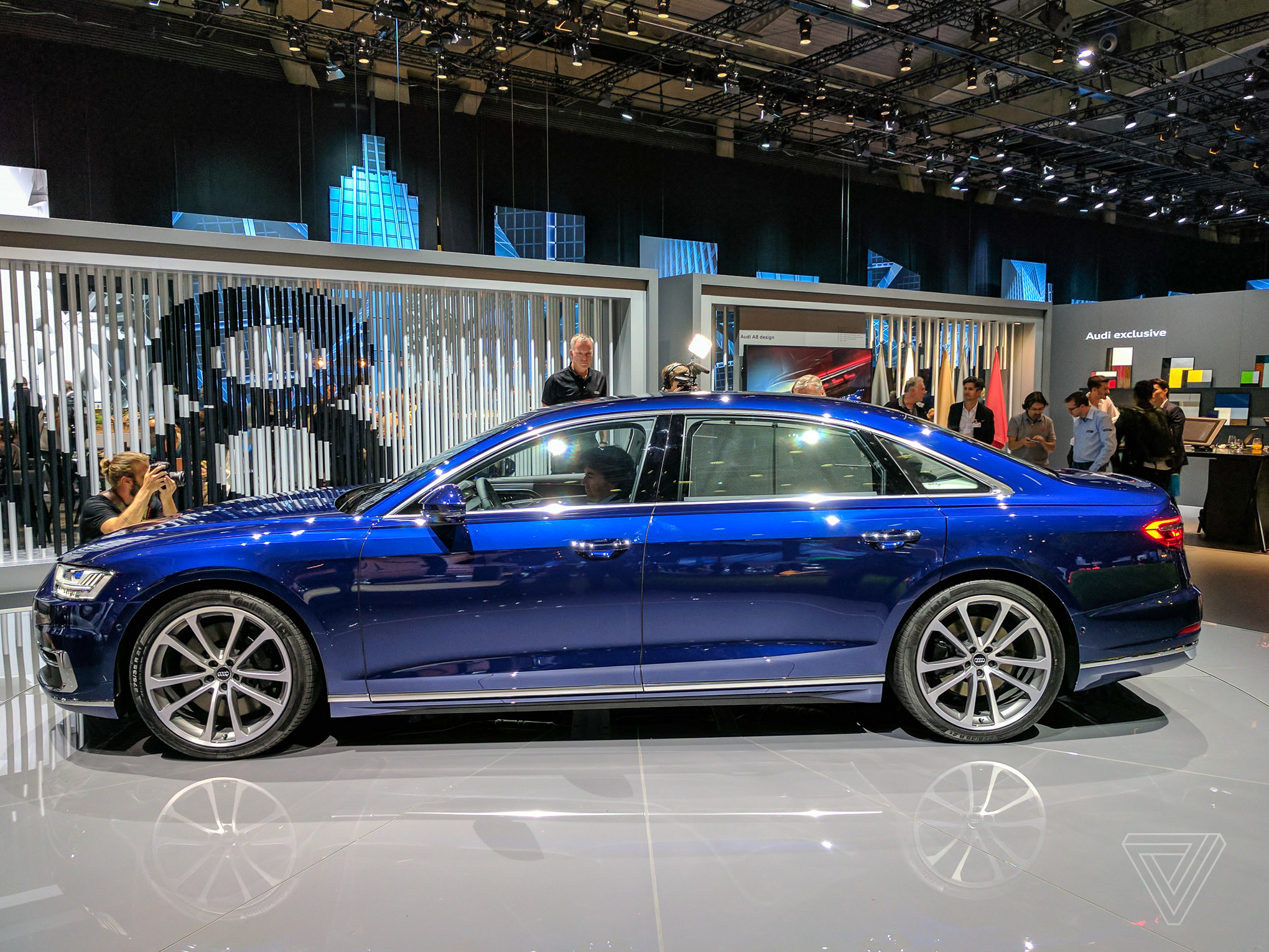 audi s a8 is a declaration of war on buttons but now the battle