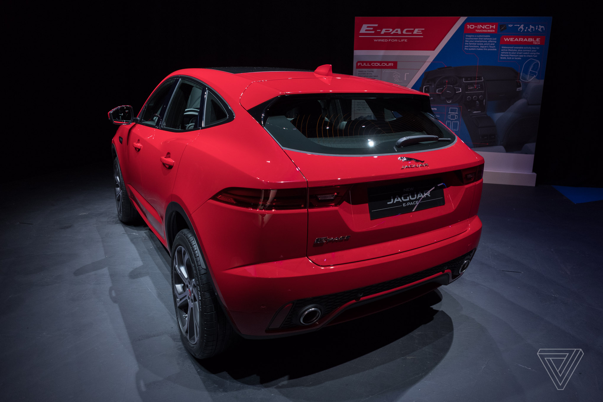 Jaguar Reveals E Pace The Crossover Suv For Millennial Couples F 2017 Interior Debut In London July Photo By Vlad Savov Verge