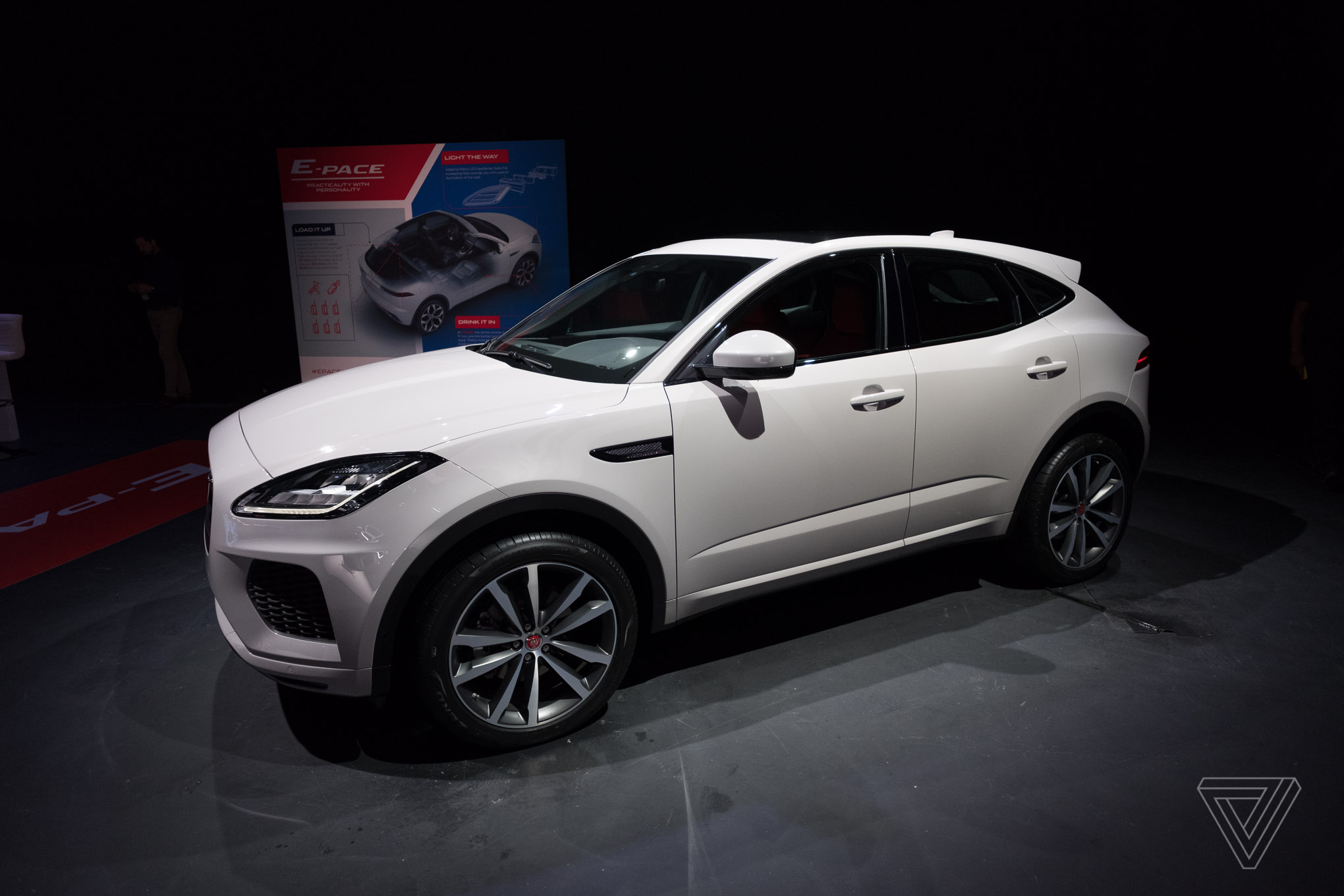 Jaguar E Pace Debut In London July 2017 Photo By Vlad Savov The Verge