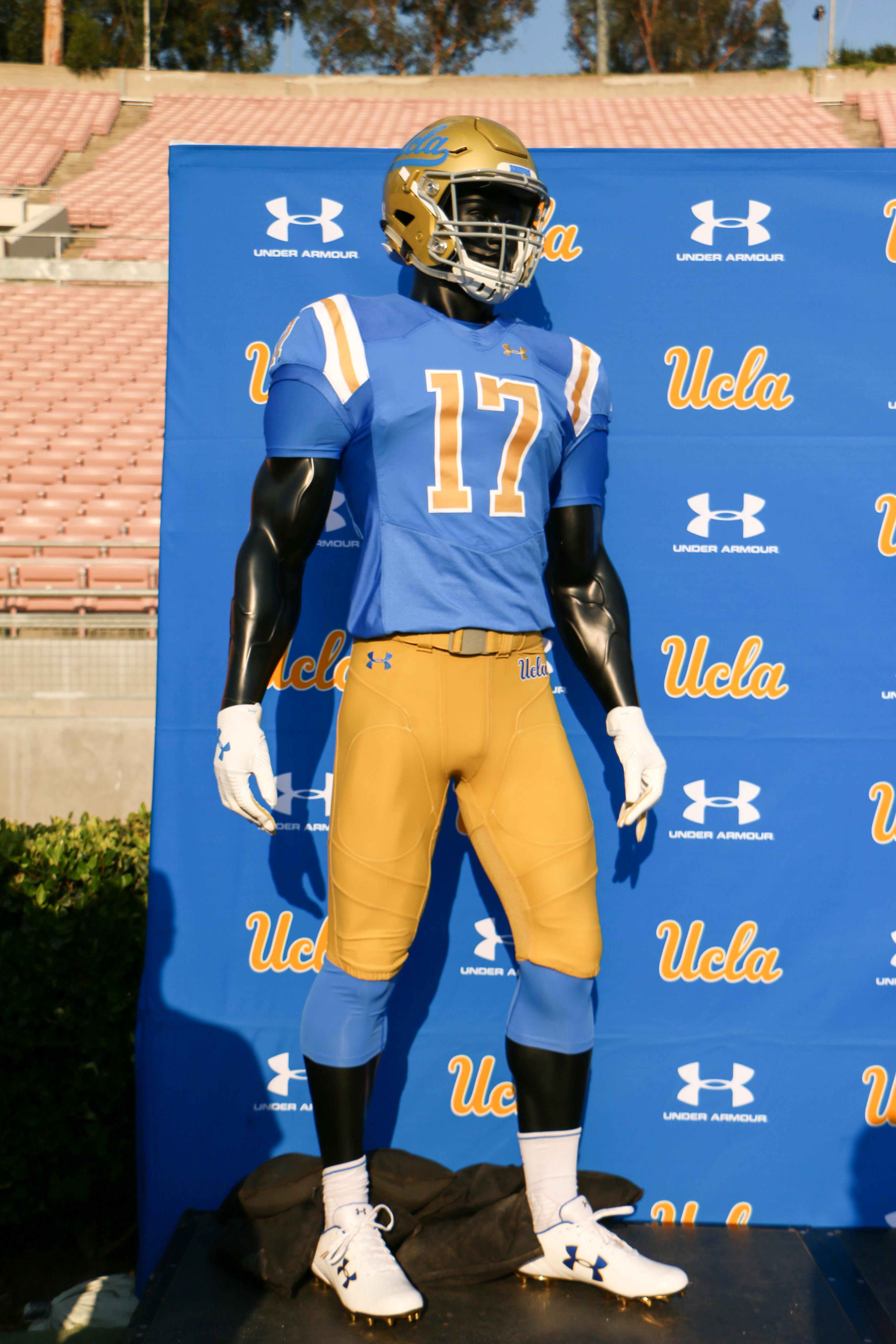ab37b19c60b UCLA Football Season Ticket Holders Get a Look at the Under Armour ...