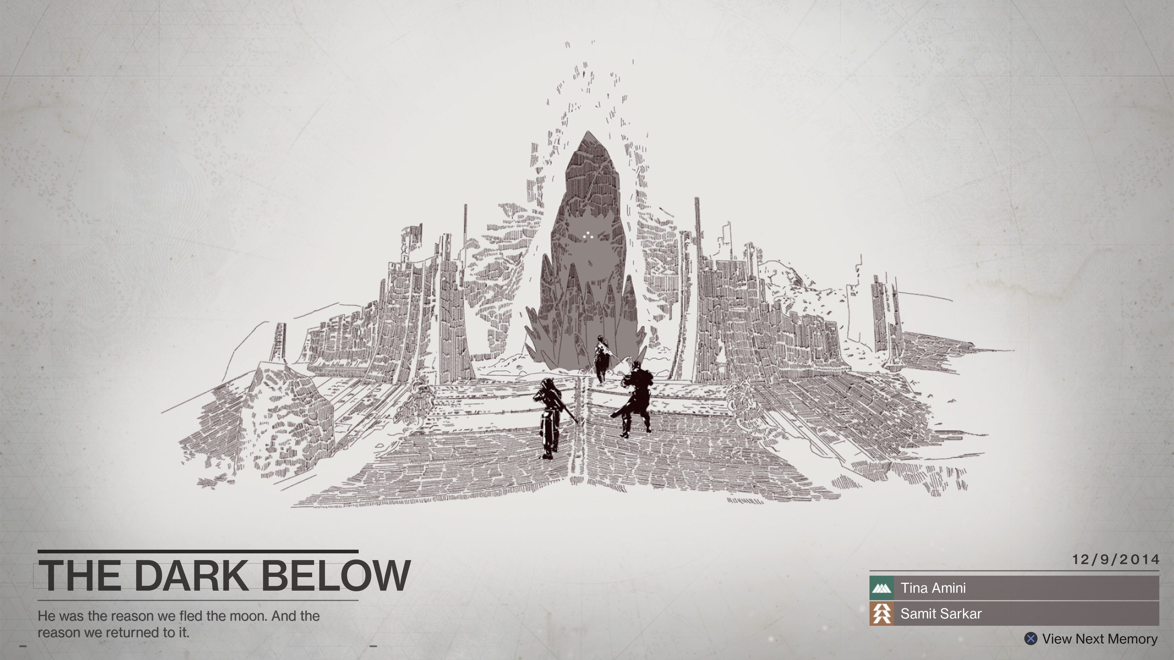 Destiny 2 begins with a touching tribute to returning