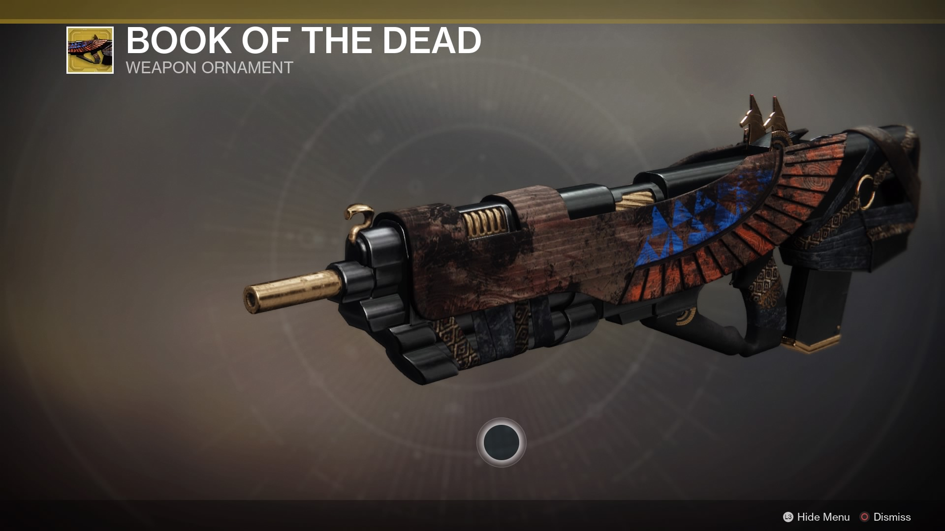 book of the dead destiny 2