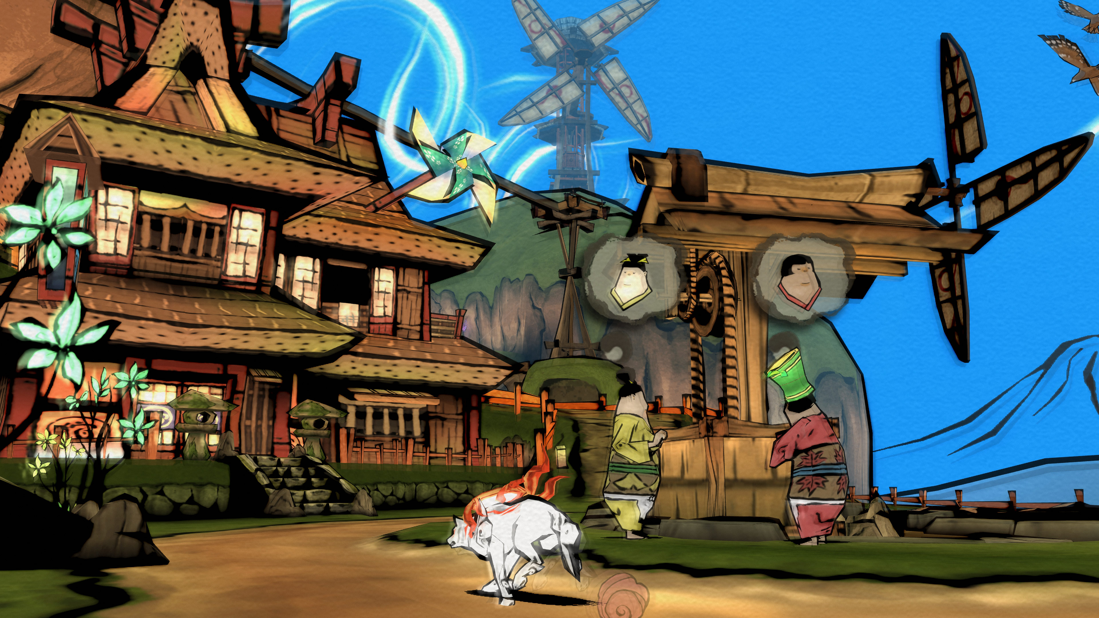 Okami HD coming to PC, PS4 and Xbox One