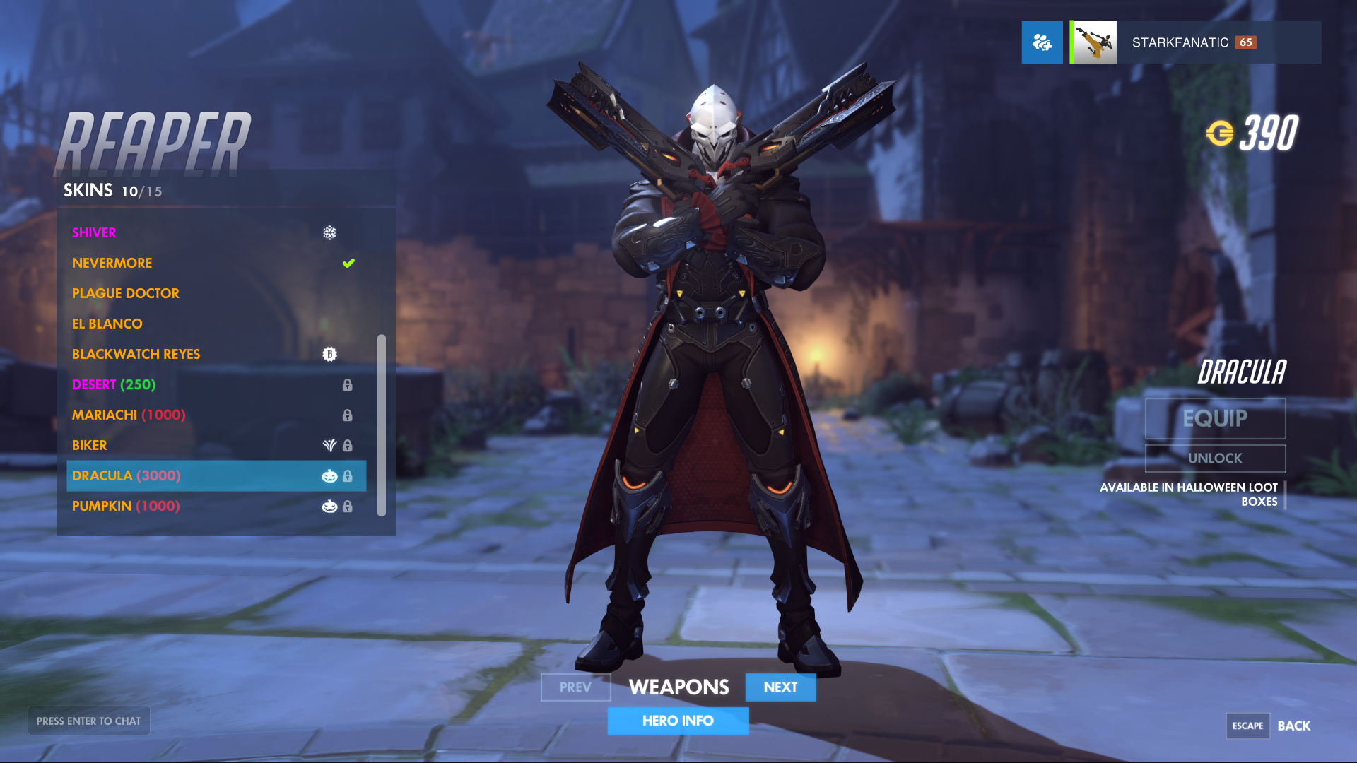 Check out Overwatch's Halloween Terror 2017 Skins - Heroes Never Die