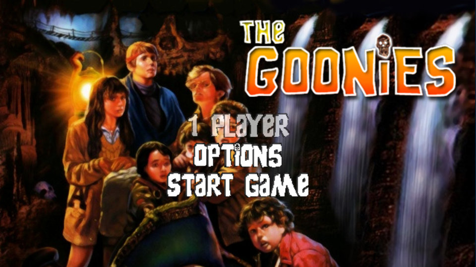 The Goonies original PC game for Windows and Linux updated