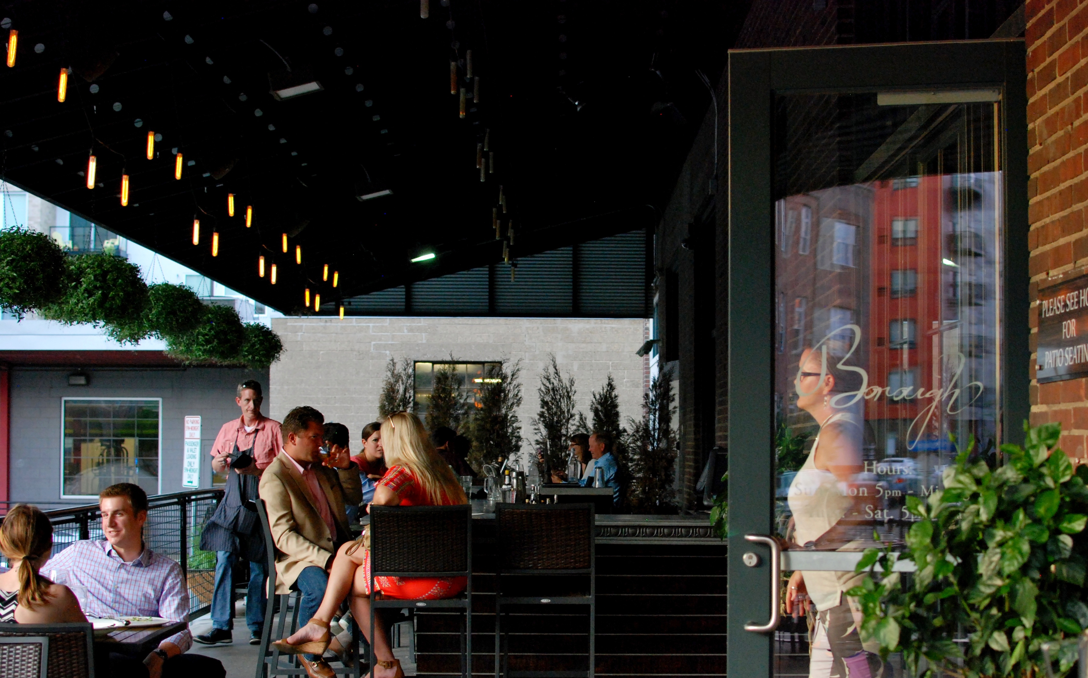 Outdoor dining in the twin cities 10 great spots eater for Z cucina menu
