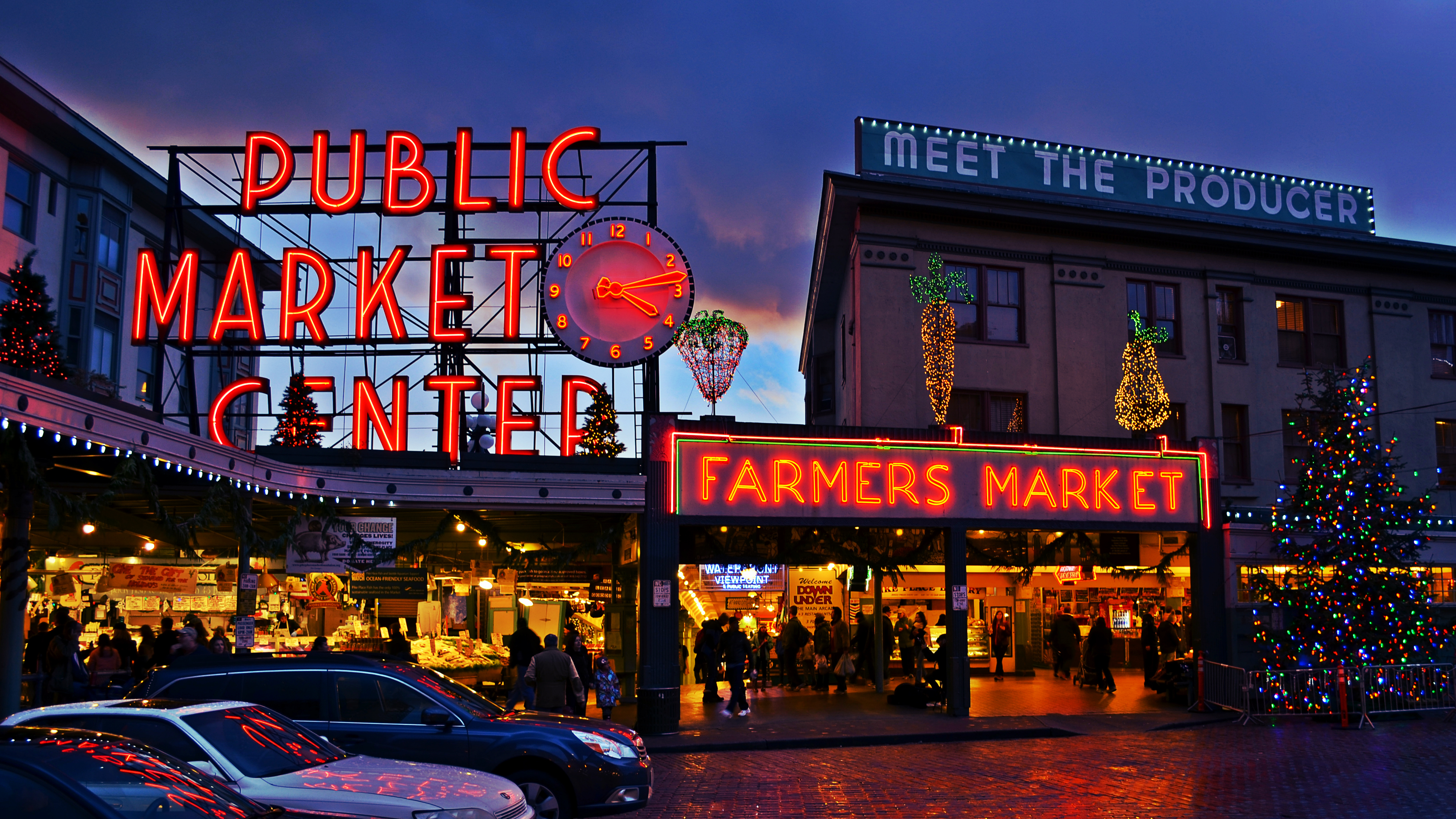Image gallery pikesplace for Pike place fish market video