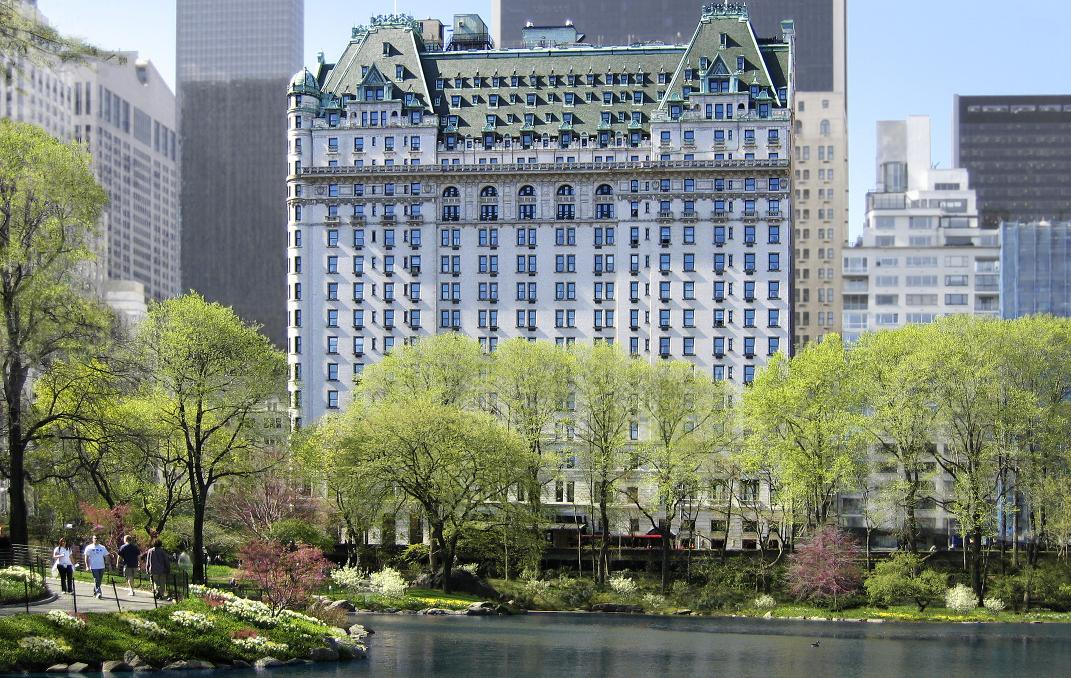 The plaza curbed ny for Most expensive hotel nyc