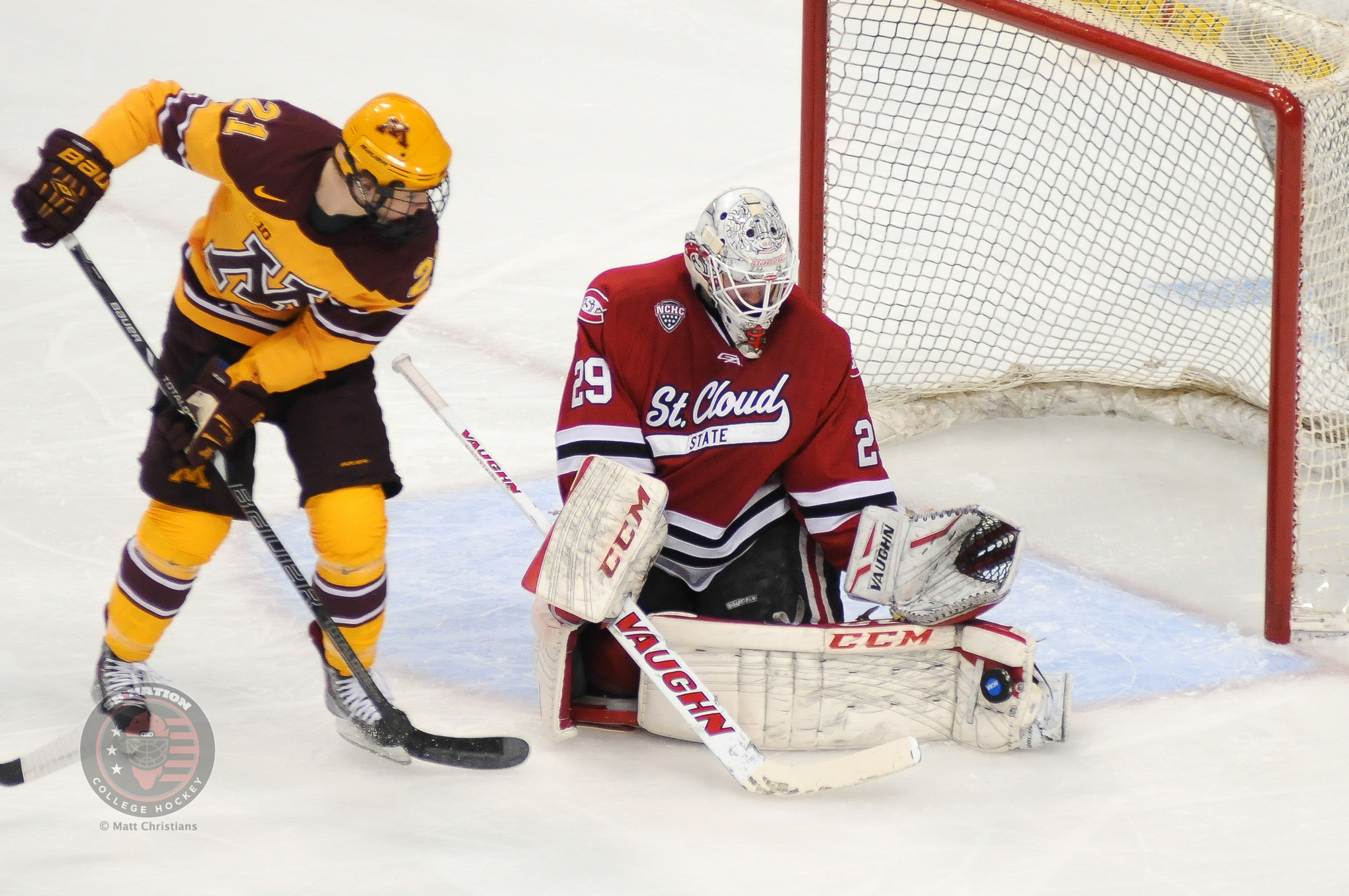 NCAA: Gopher Hockey Notebook - Tough Non-conference Stretch Begins For Minnesota
