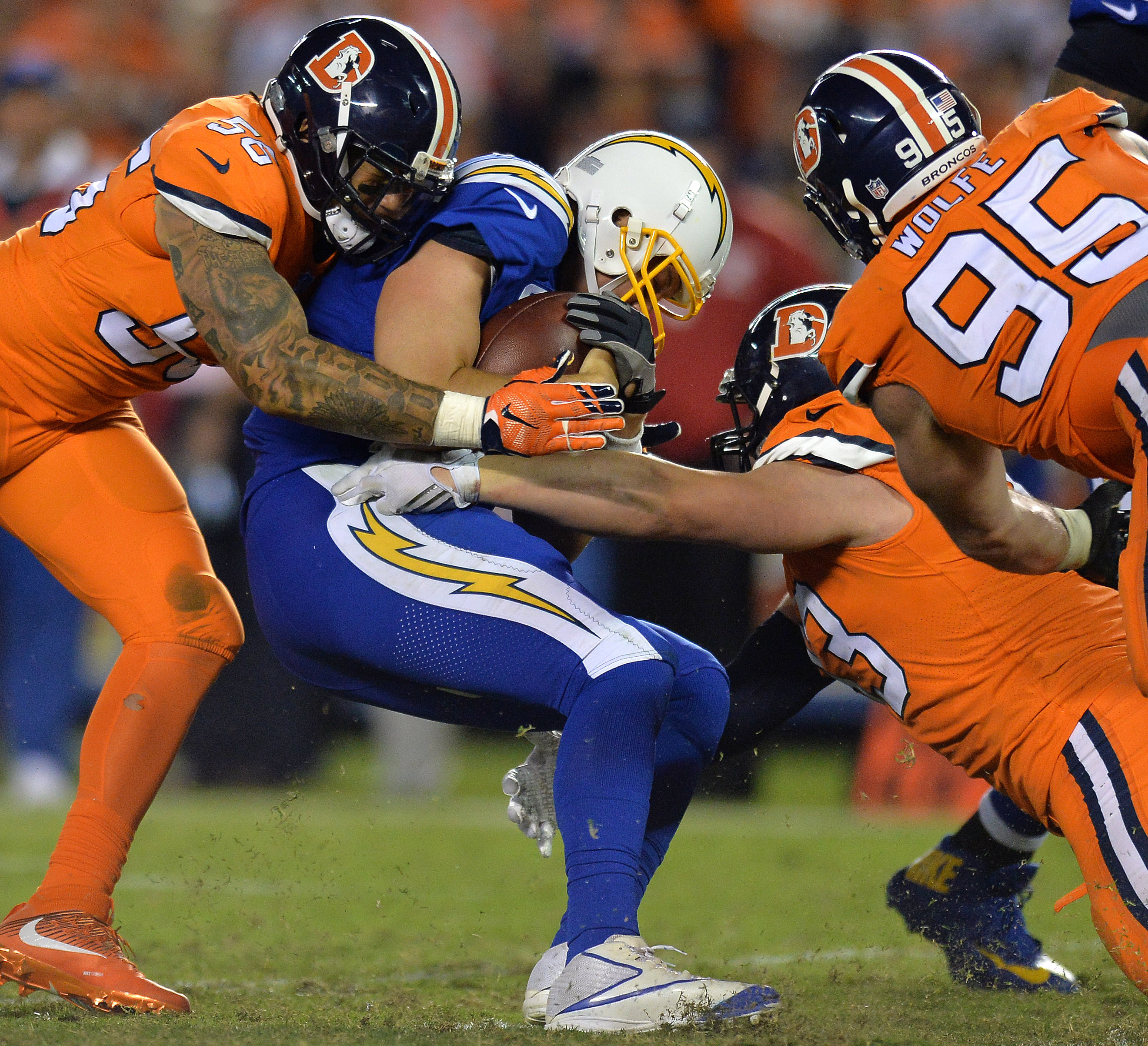 San Diego Chargers Broadcast: Denver Broncos Vs. Oakland Raiders: TV Broadcast Map (NFL